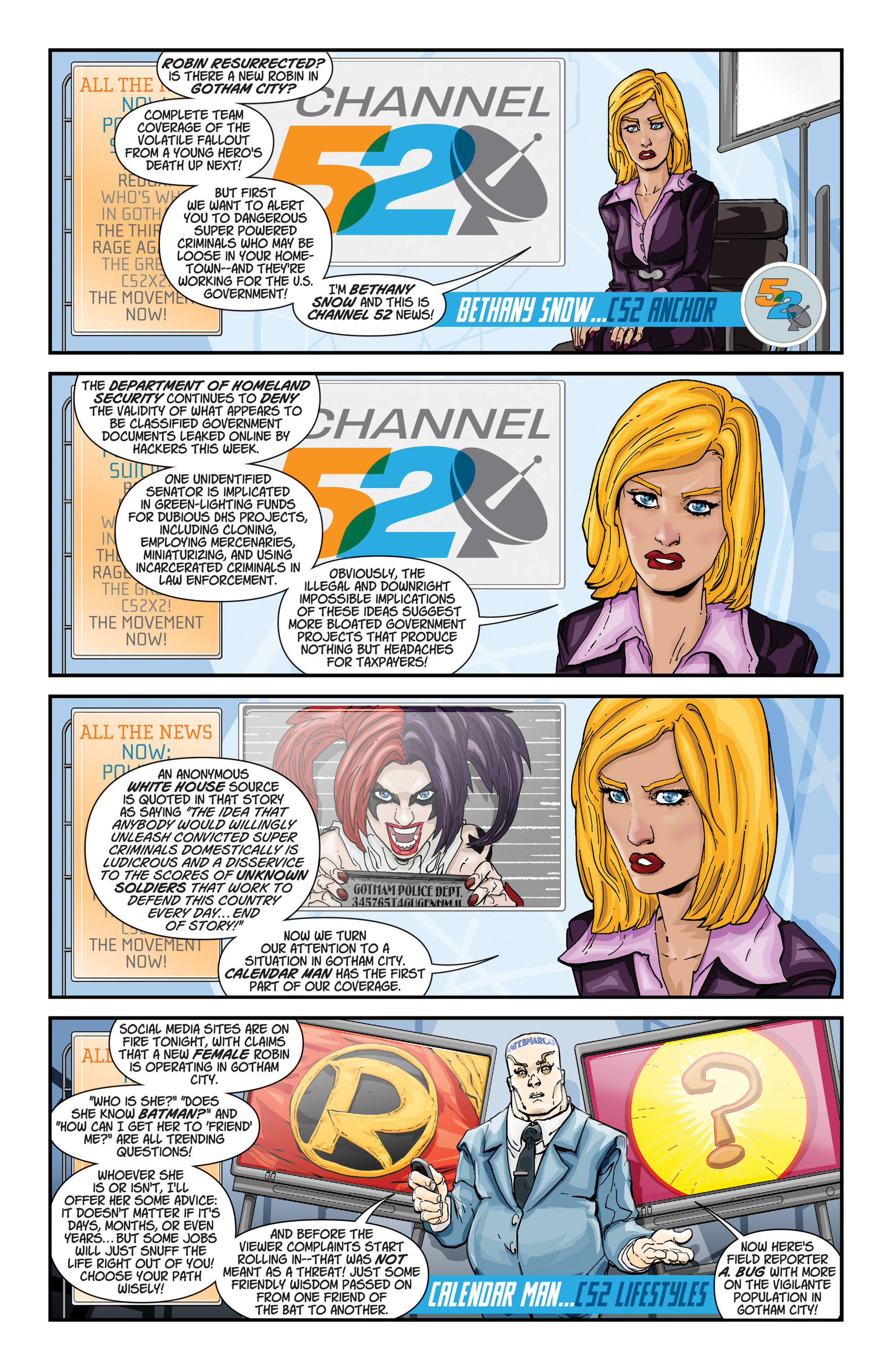 Read online The Ravagers comic -  Issue #11 - 23