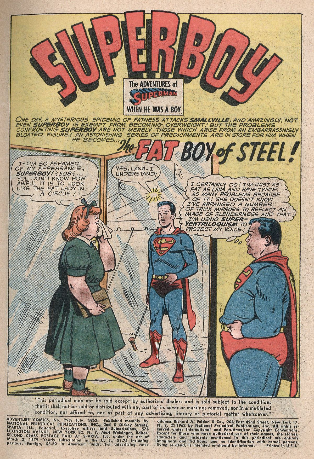 Read online Adventure Comics (1938) comic -  Issue #298 - 3