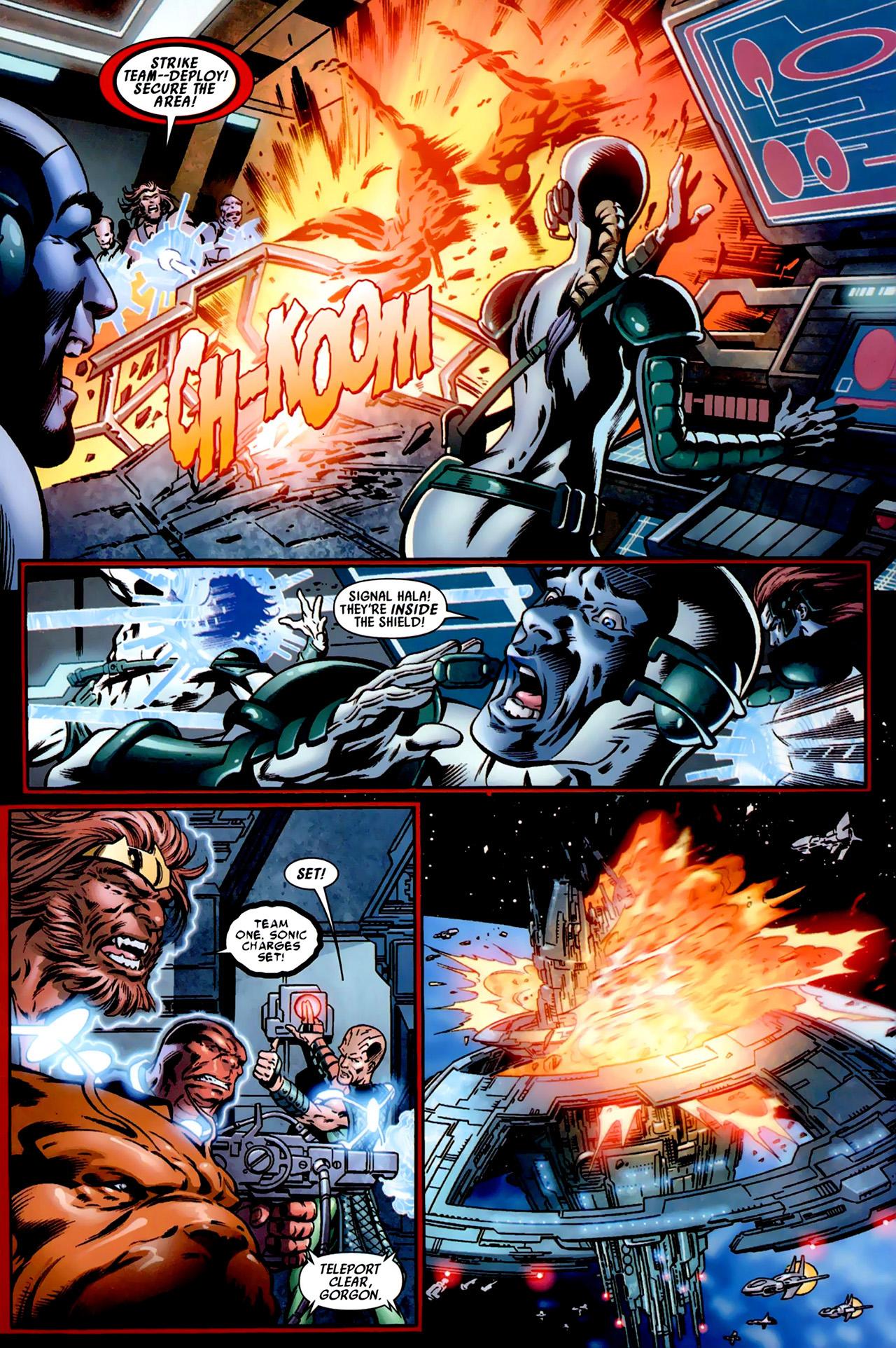 Read online Secret Invasion: War of Kings comic -  Issue # Full - 28