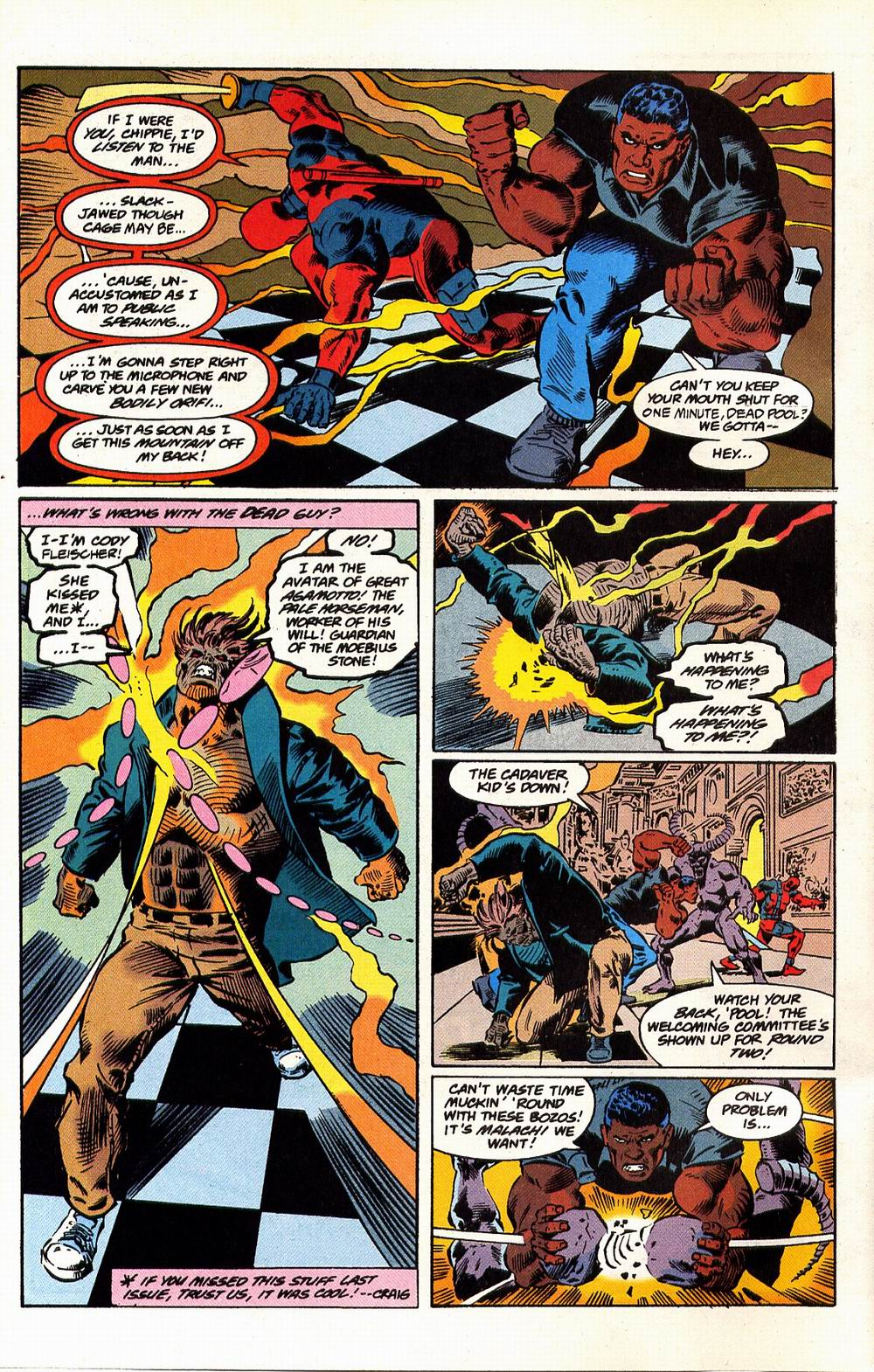 Read online Secret Defenders comic -  Issue #17 - 5