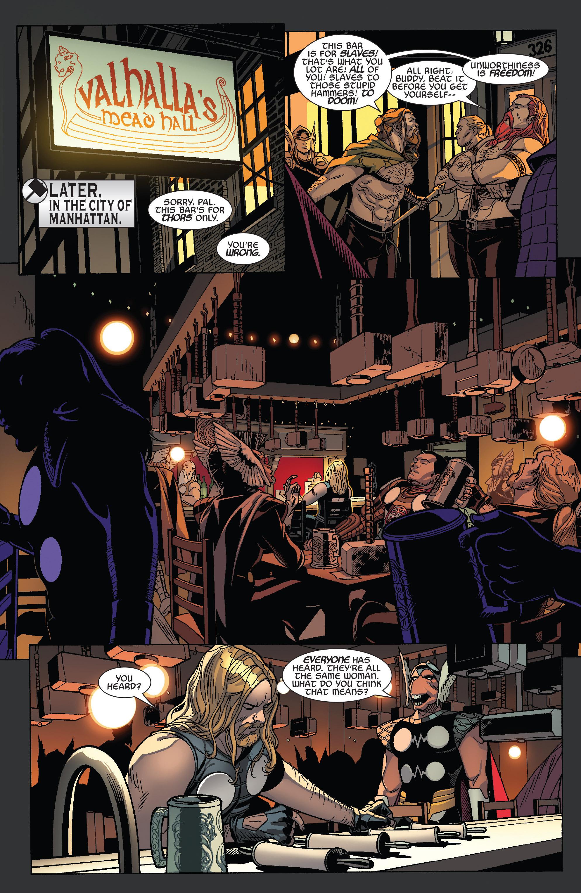 Thors #1 #4 - English 15