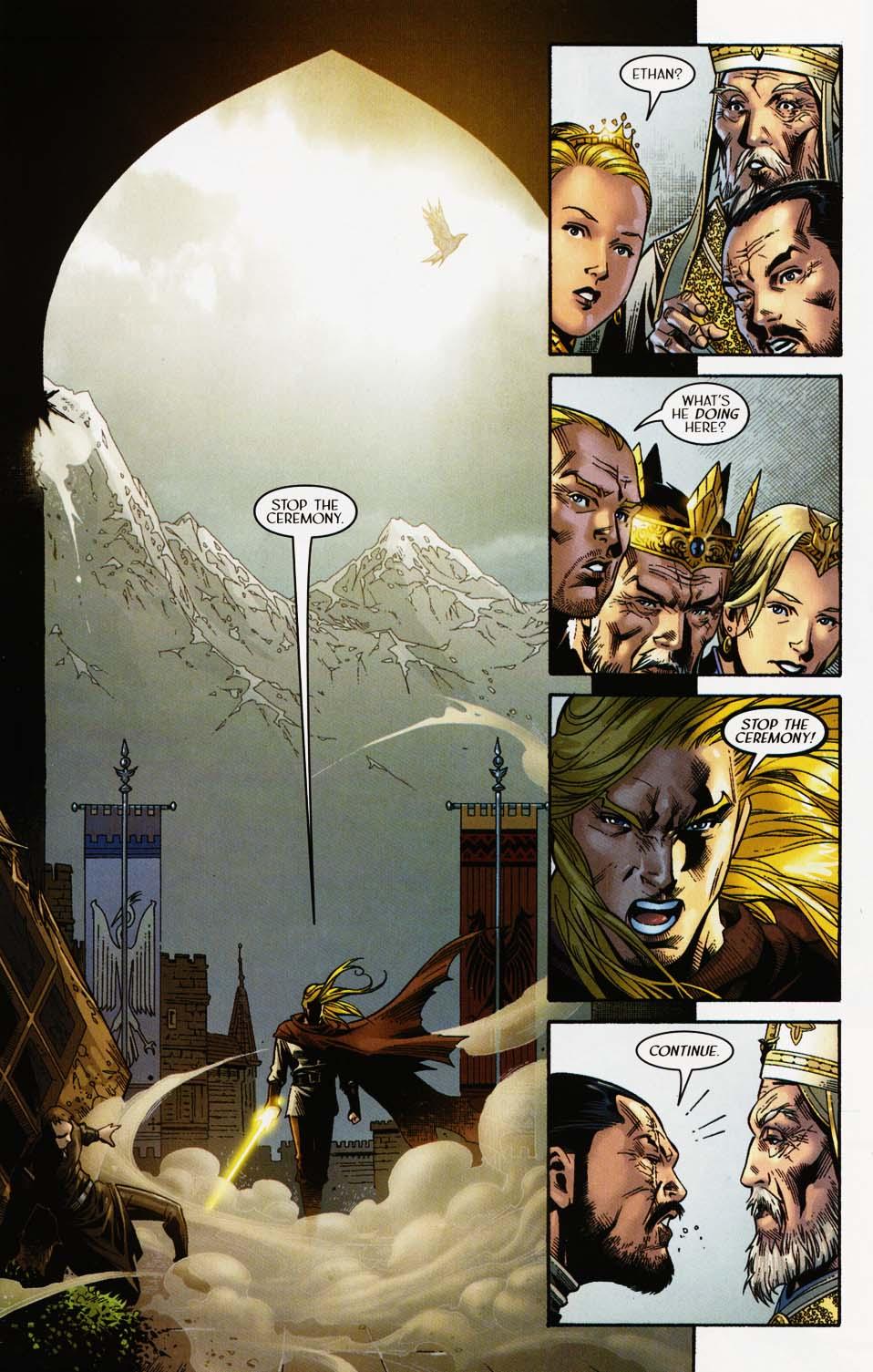 Read online Scion comic -  Issue #35 - 20