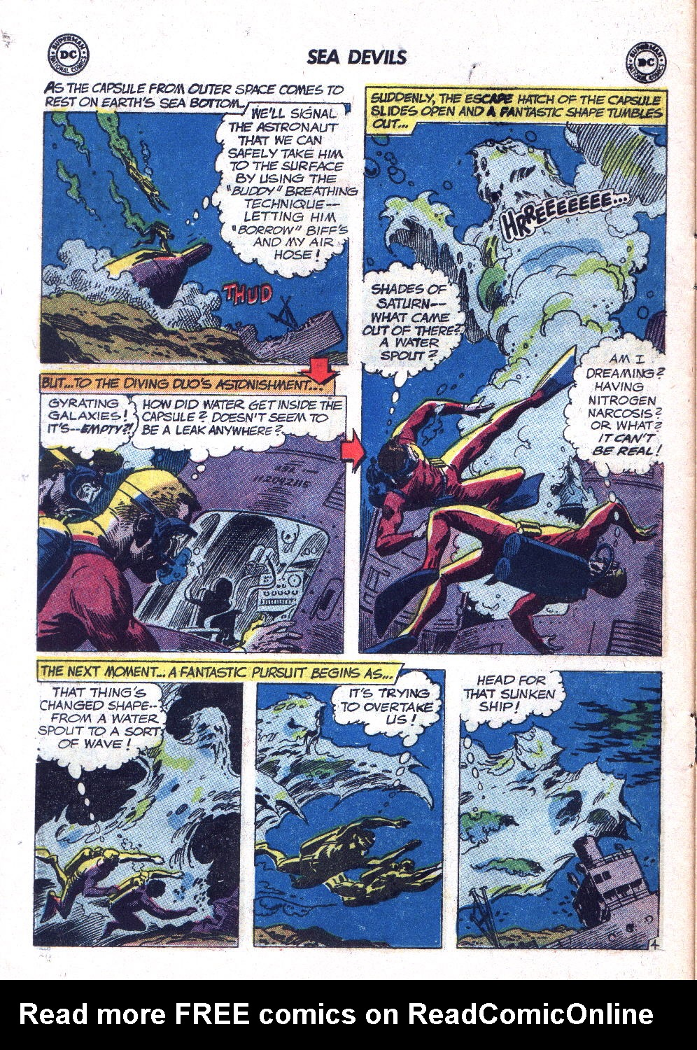 Read online Sea Devils comic -  Issue #7 - 7