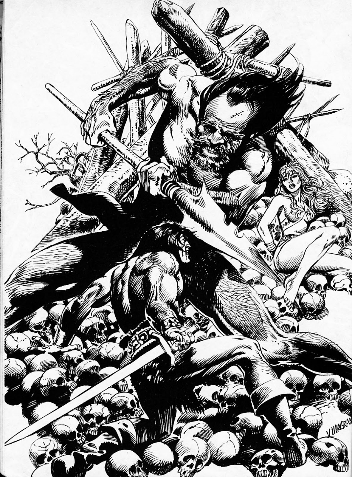 The Savage Sword Of Conan Issue #186 #187 - English 57