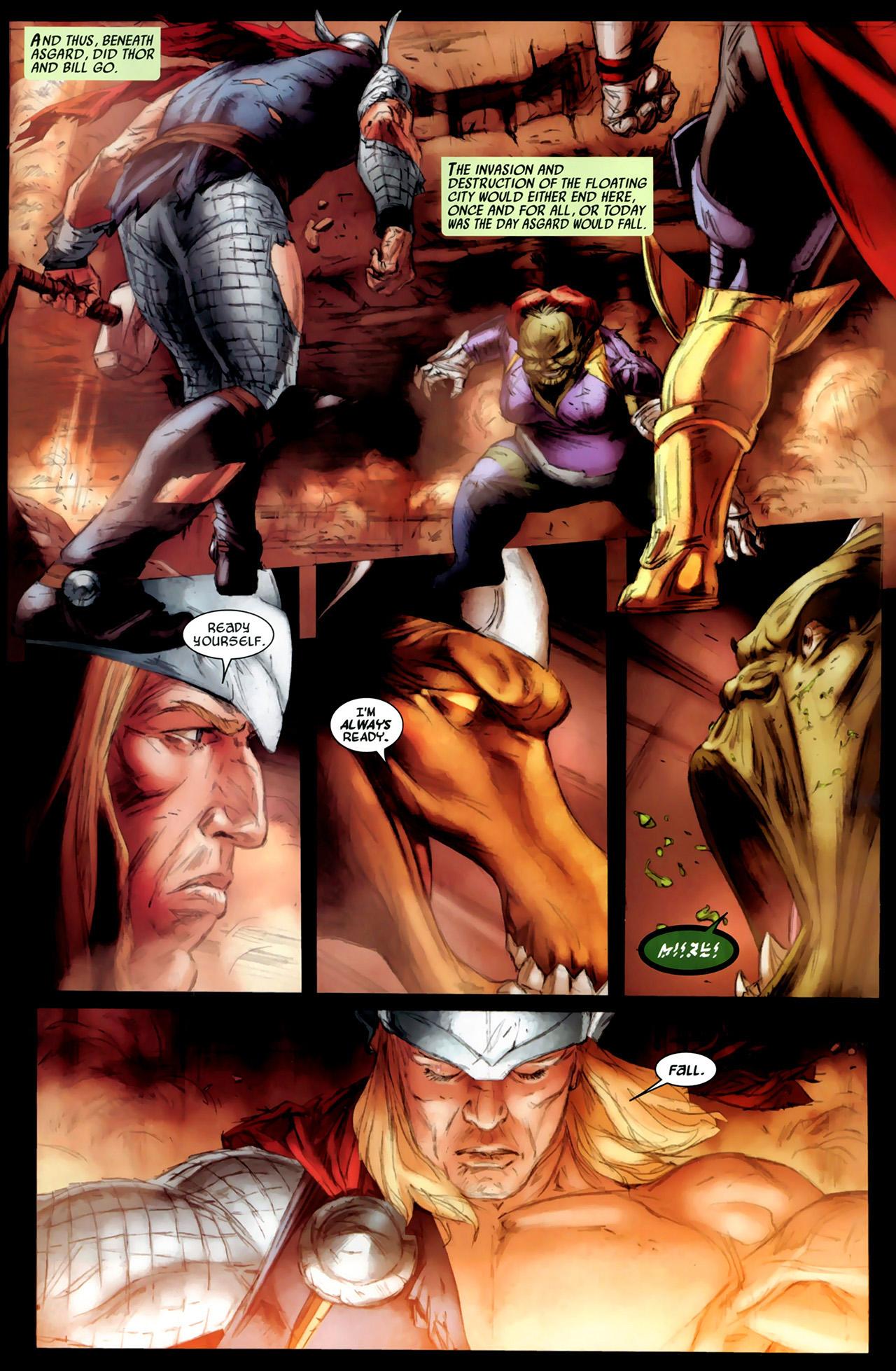 Read online Secret Invasion: Thor comic -  Issue #3 - 18