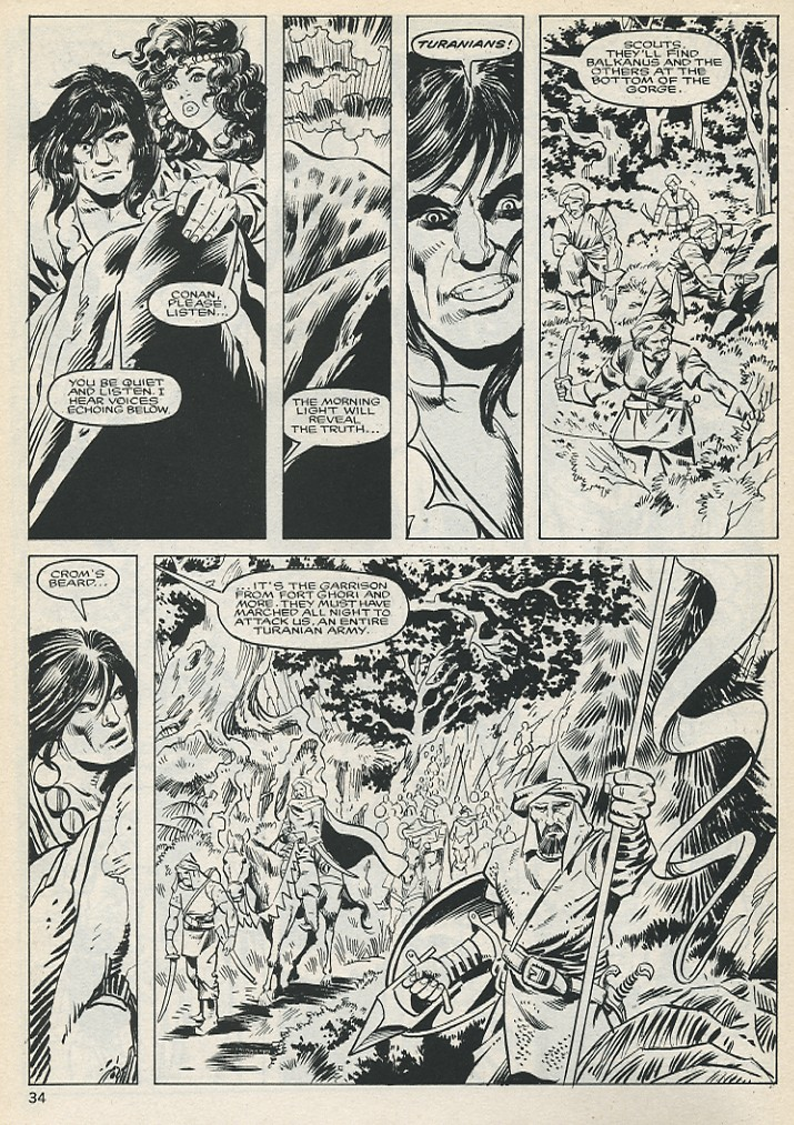 The Savage Sword Of Conan Issue #131 #132 - English 34