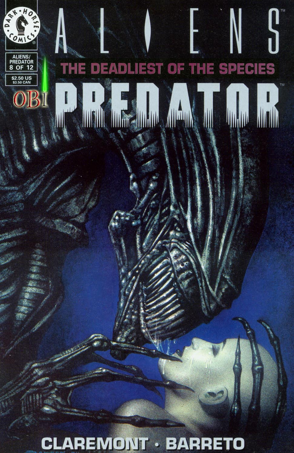 Aliens/Predator: The Deadliest of the Species 8 Page 1