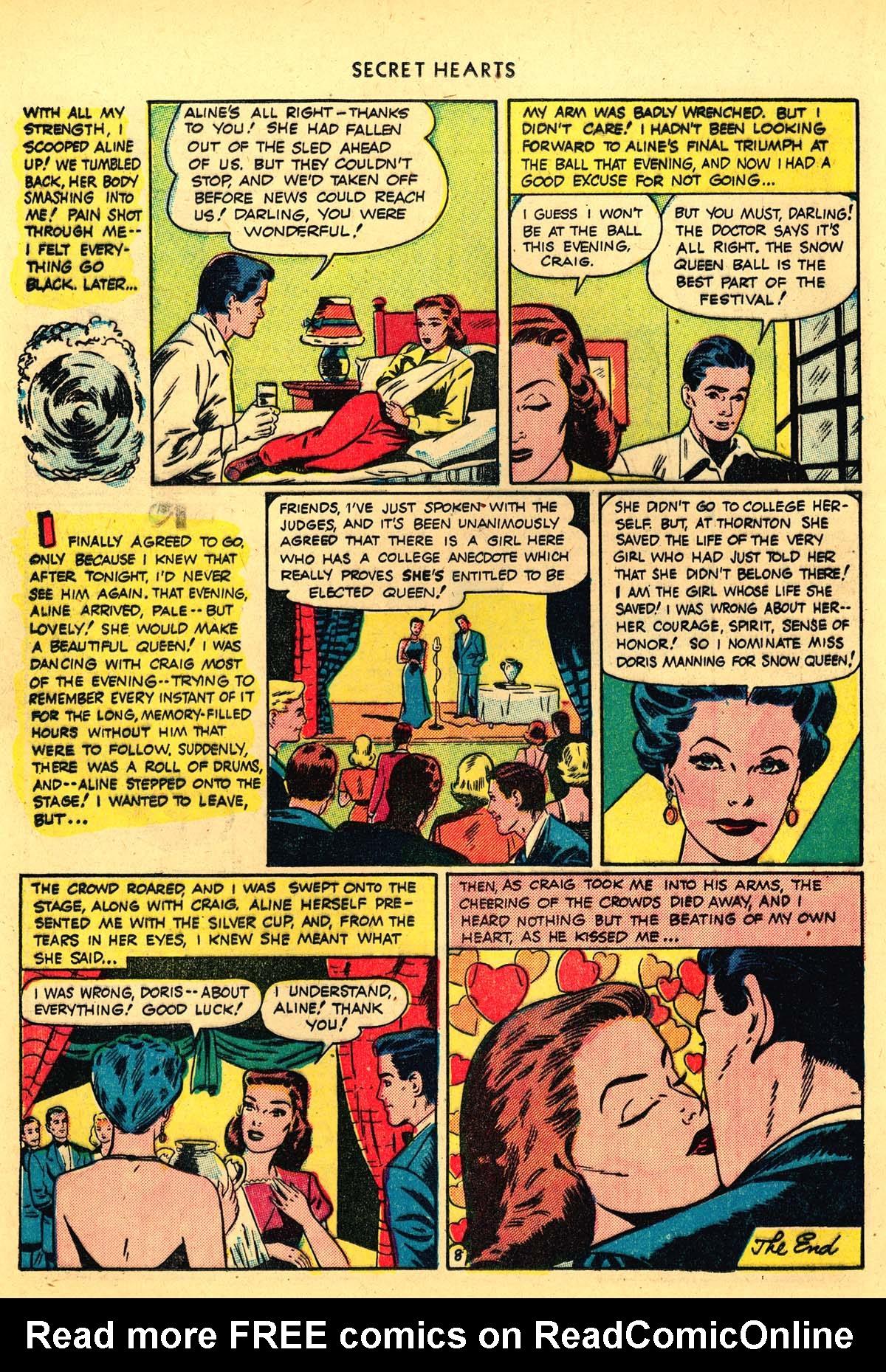 Read online Secret Hearts comic -  Issue #4 - 28