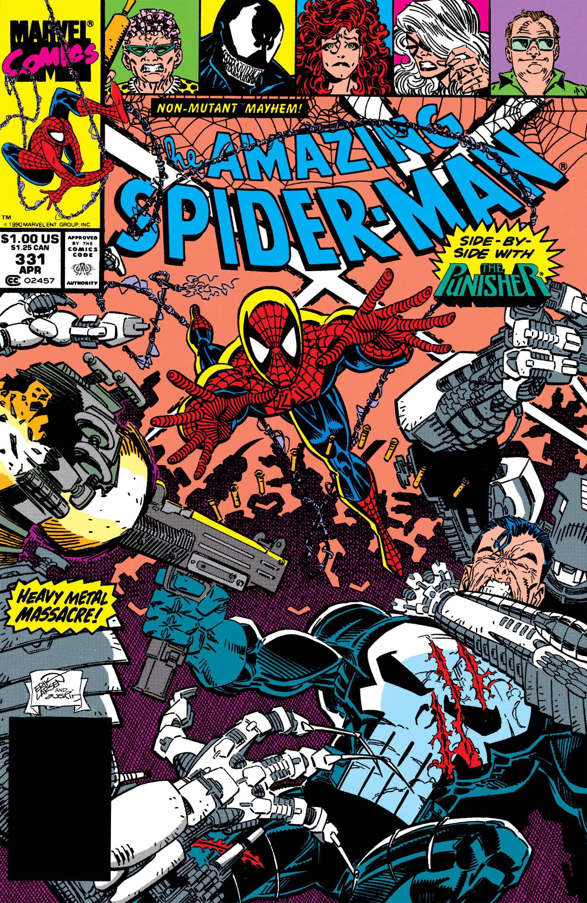 The Amazing Spider-Man (1963) 331 Page 1