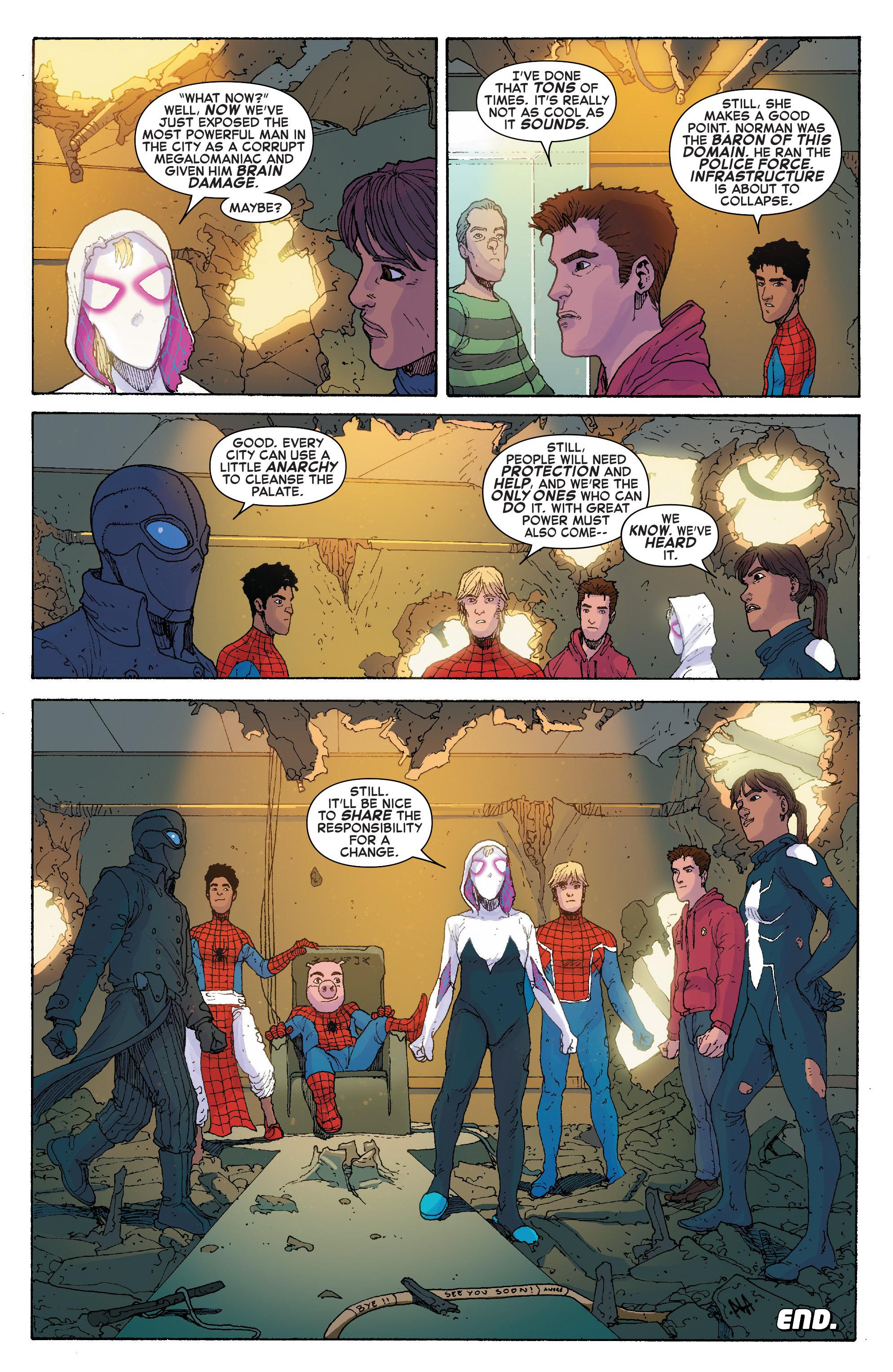 Read online Spider-Verse [II] comic -  Issue #5 - 21
