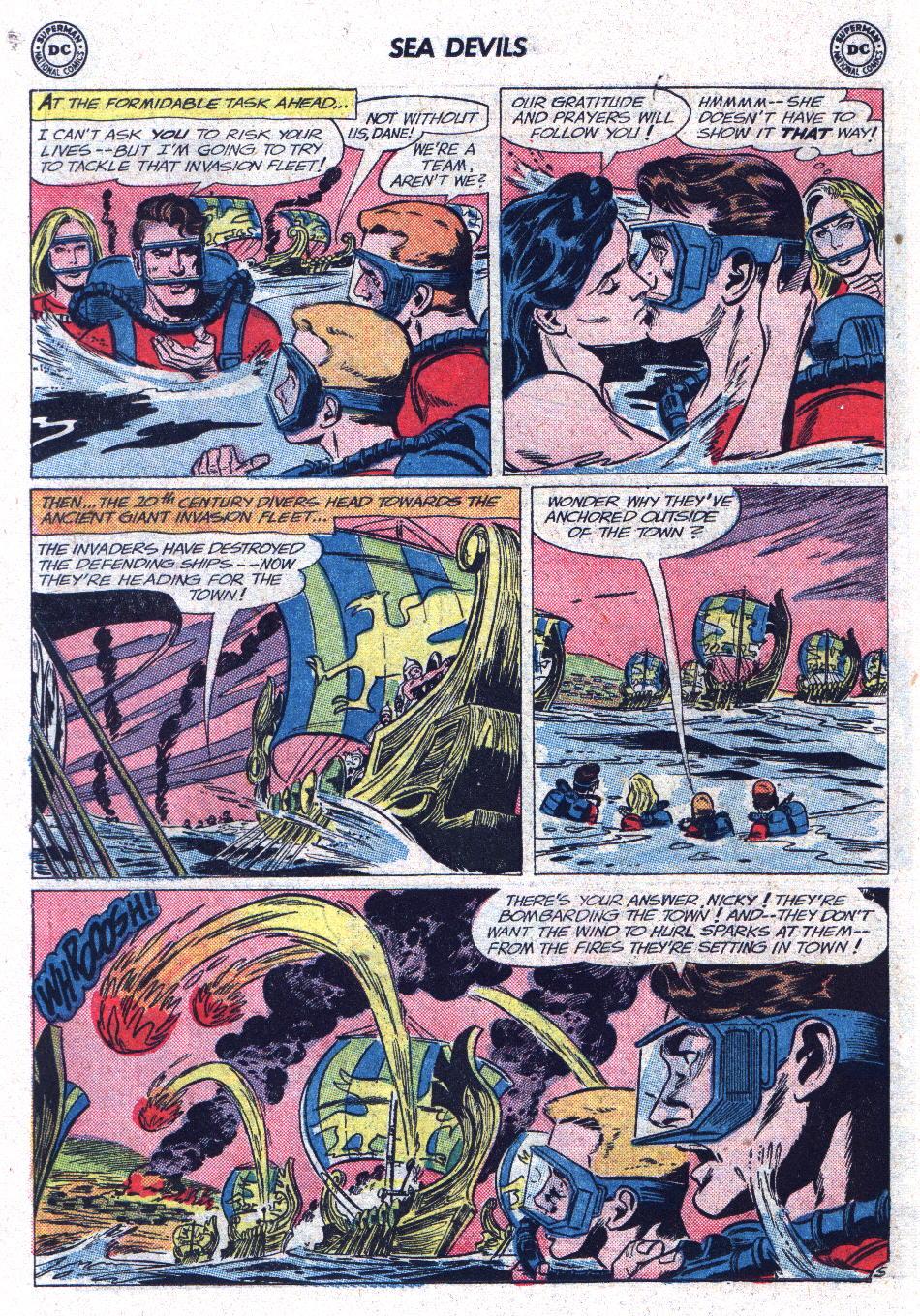 Read online Sea Devils comic -  Issue #13 - 18