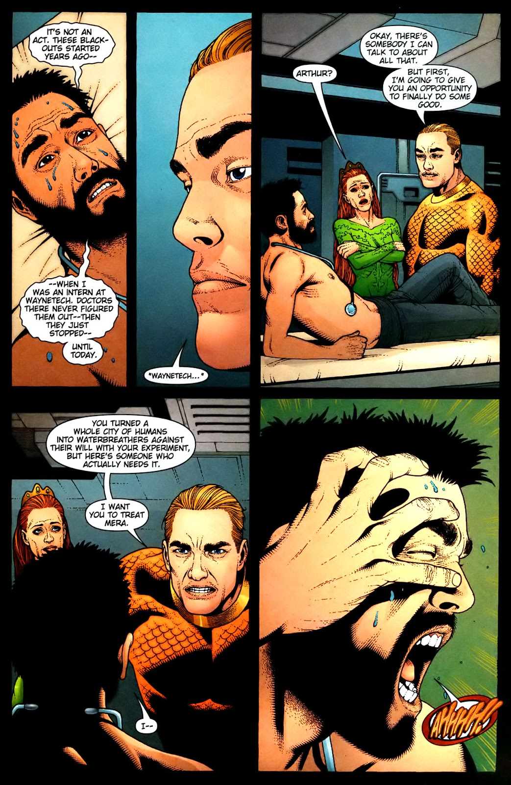 Aquaman (2003) Issue #35 #35 - English 4