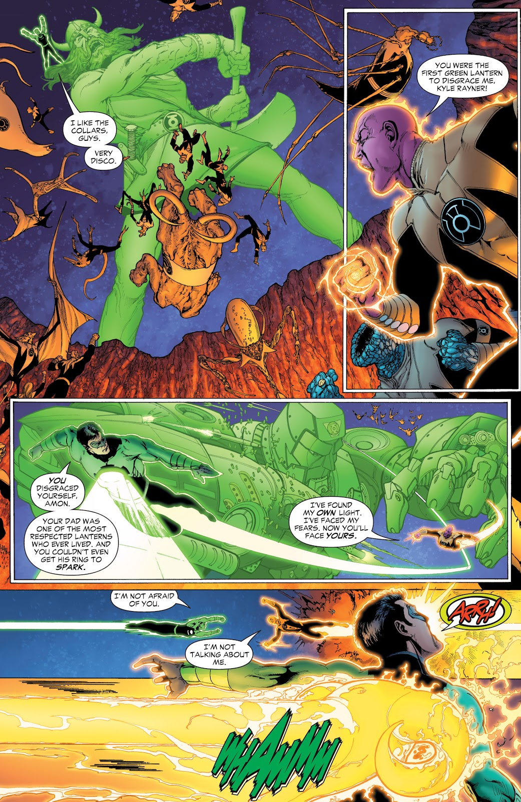 Green Lantern: The Sinestro Corps War Full #1 - English 36