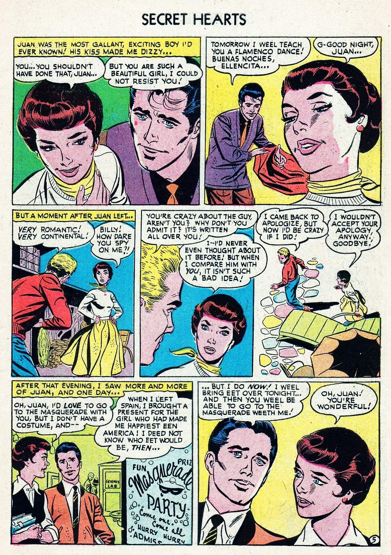 Read online Secret Hearts comic -  Issue #29 - 7
