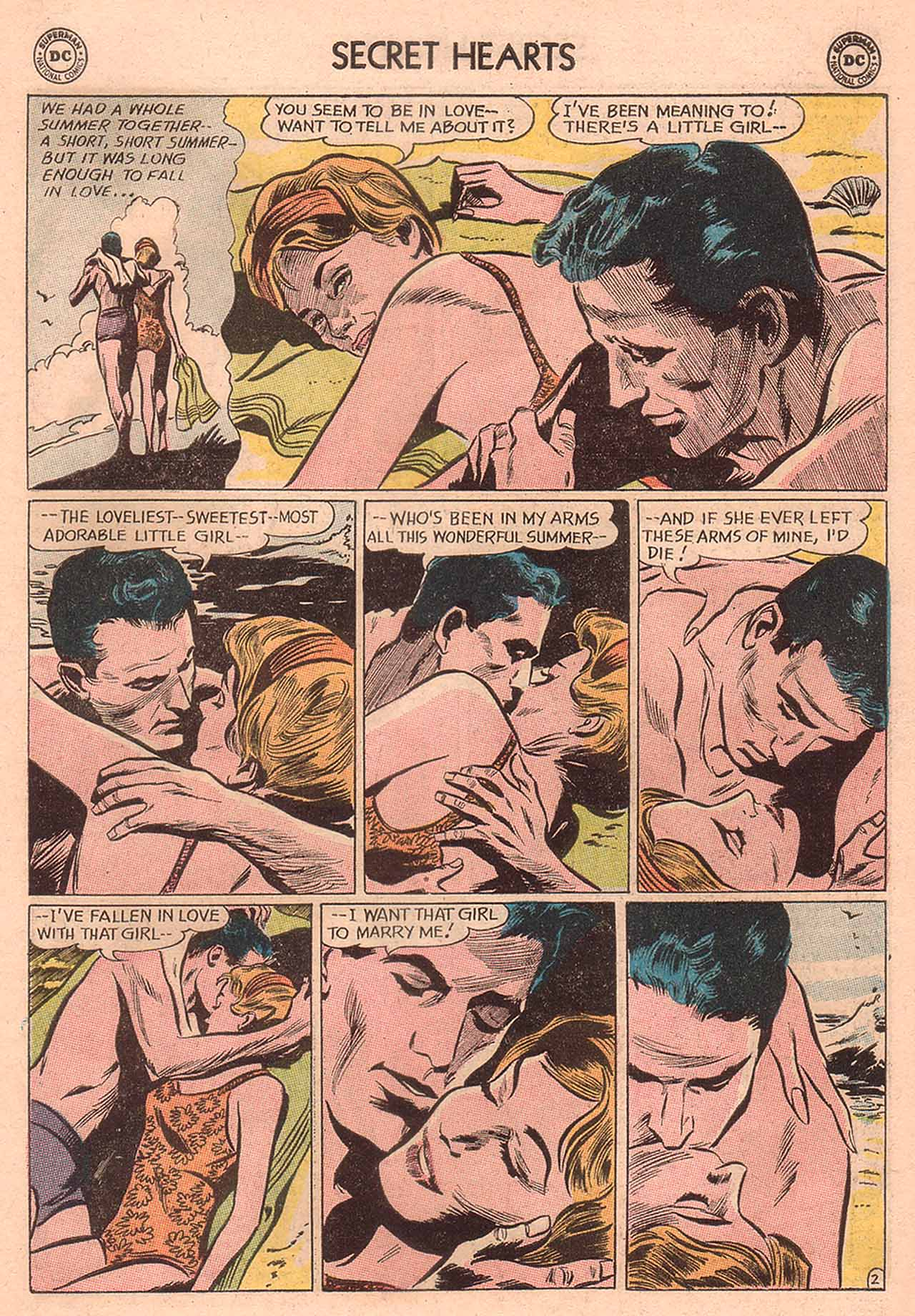 Read online Secret Hearts comic -  Issue #94 - 19