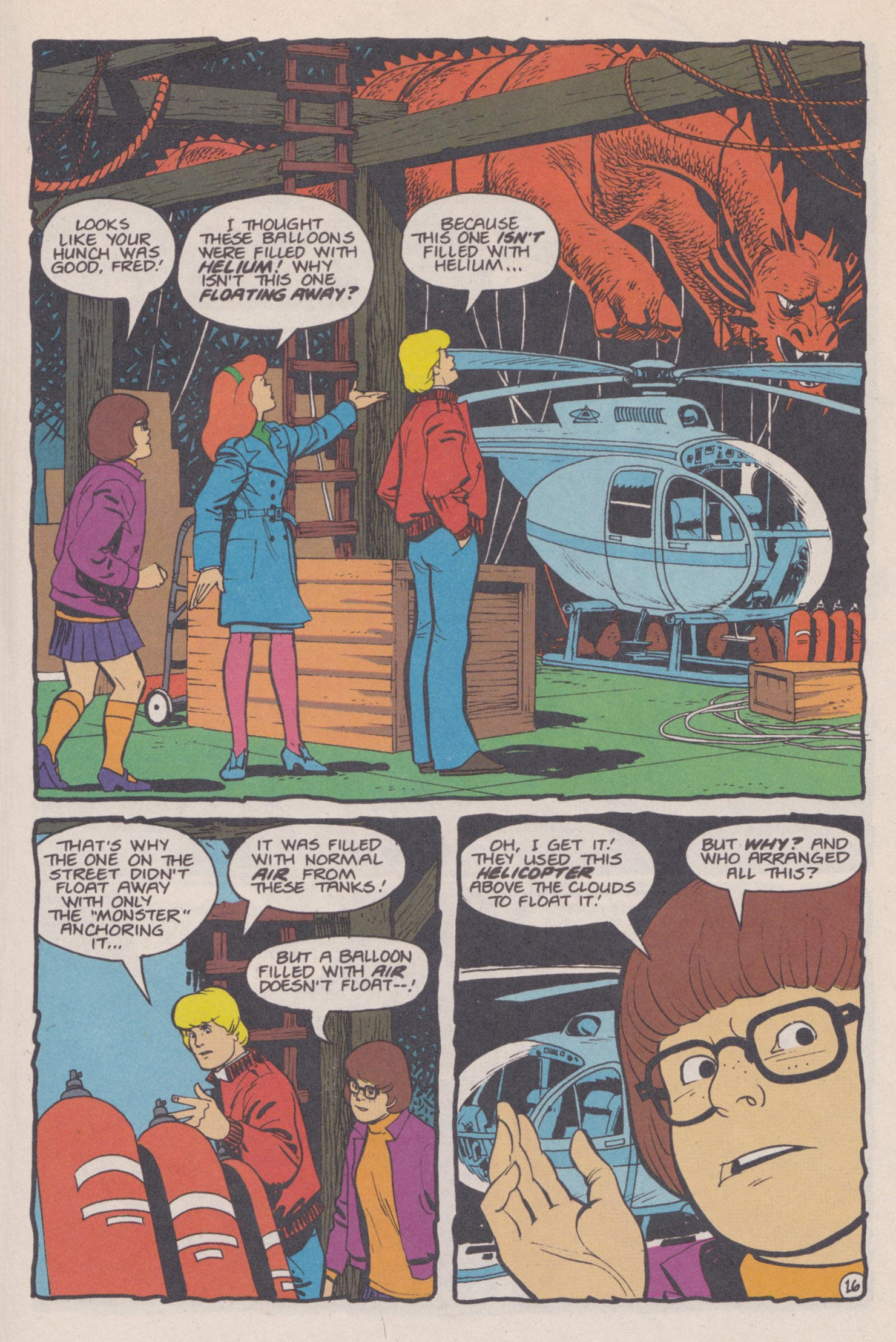 Read online Scooby-Doo (1995) comic -  Issue #14 - 17