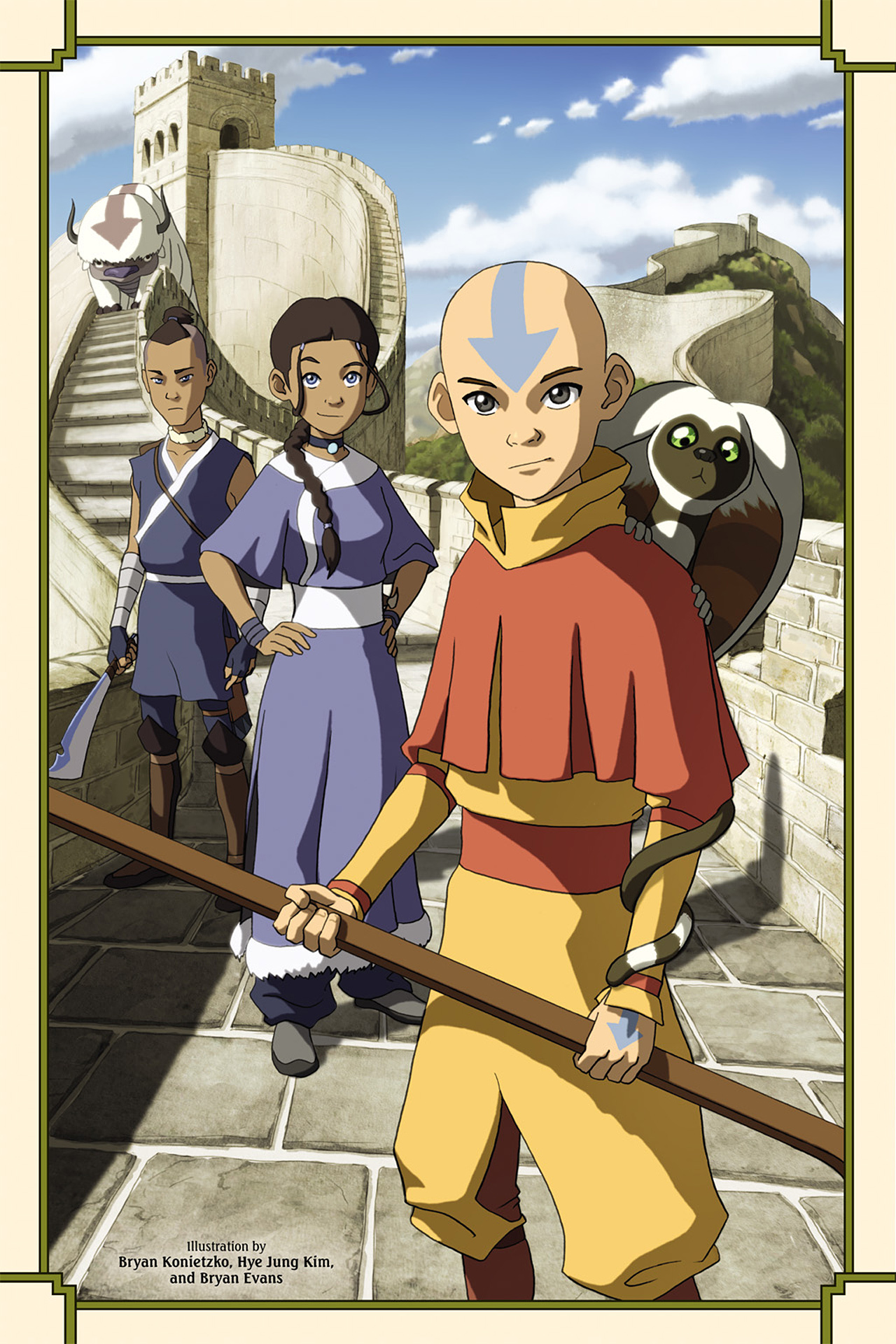 Nickelodeon Avatar: The Last Airbender - The Lost Adventures chap full pic 3