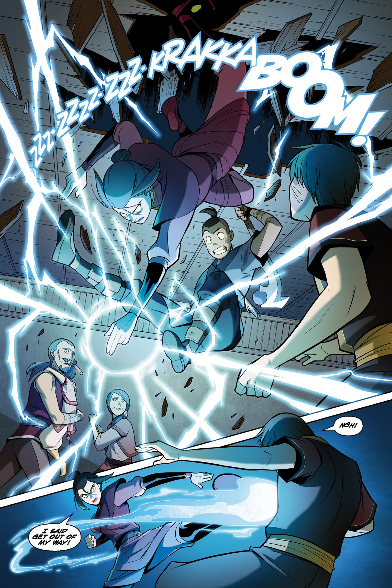Read online Nickelodeon Avatar: The Last Airbender - The Search comic -  Issue # Part 3 - 57