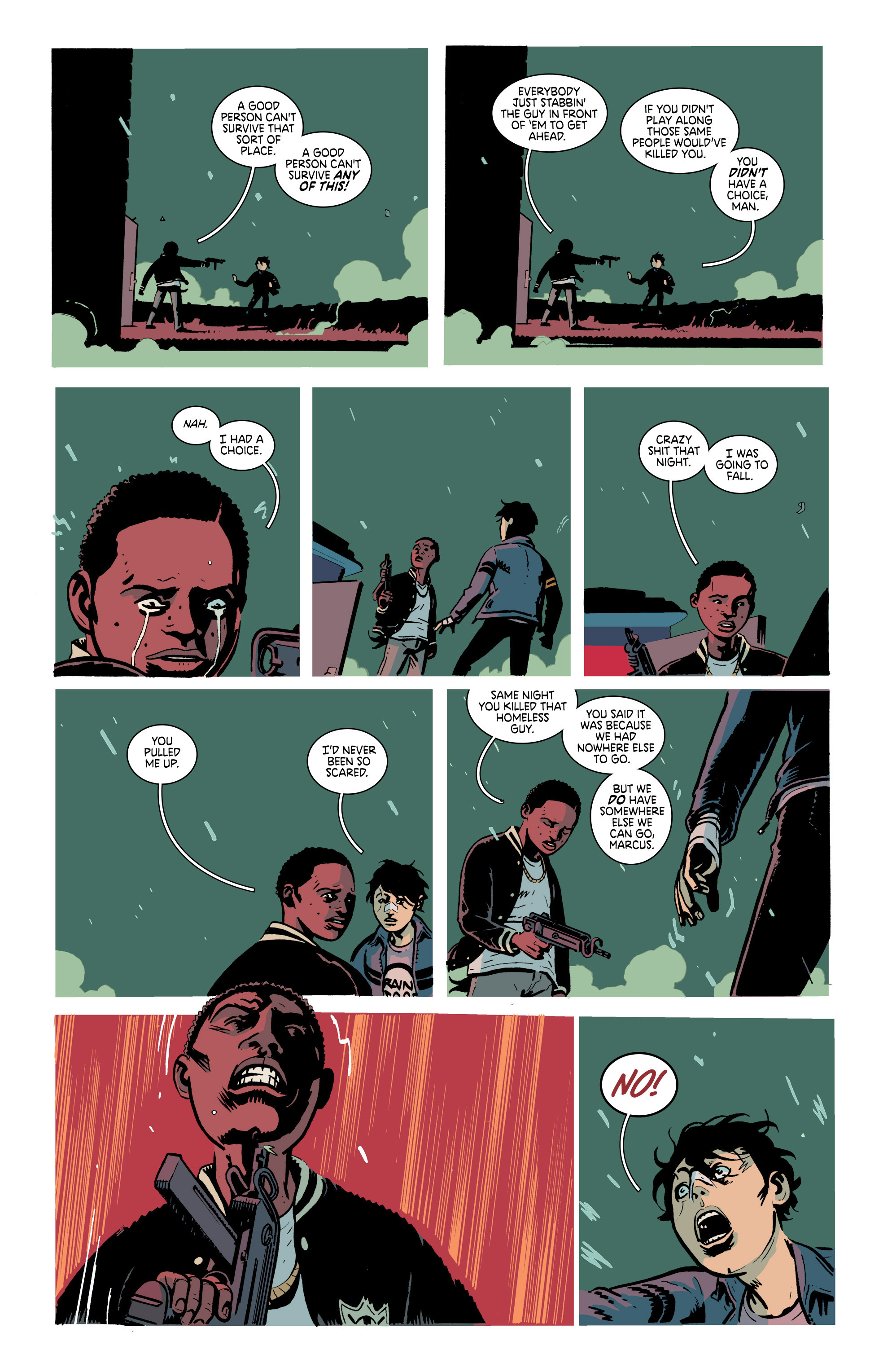Read online Deadly Class comic -  Issue #21 - 11