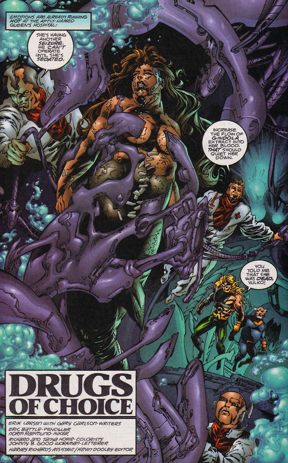 Aquaman (1994) Issue #59 #65 - English 3