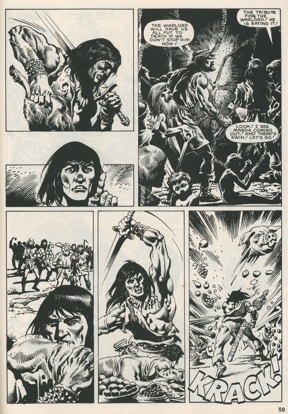 The Savage Sword Of Conan Issue #115 #116 - English 59