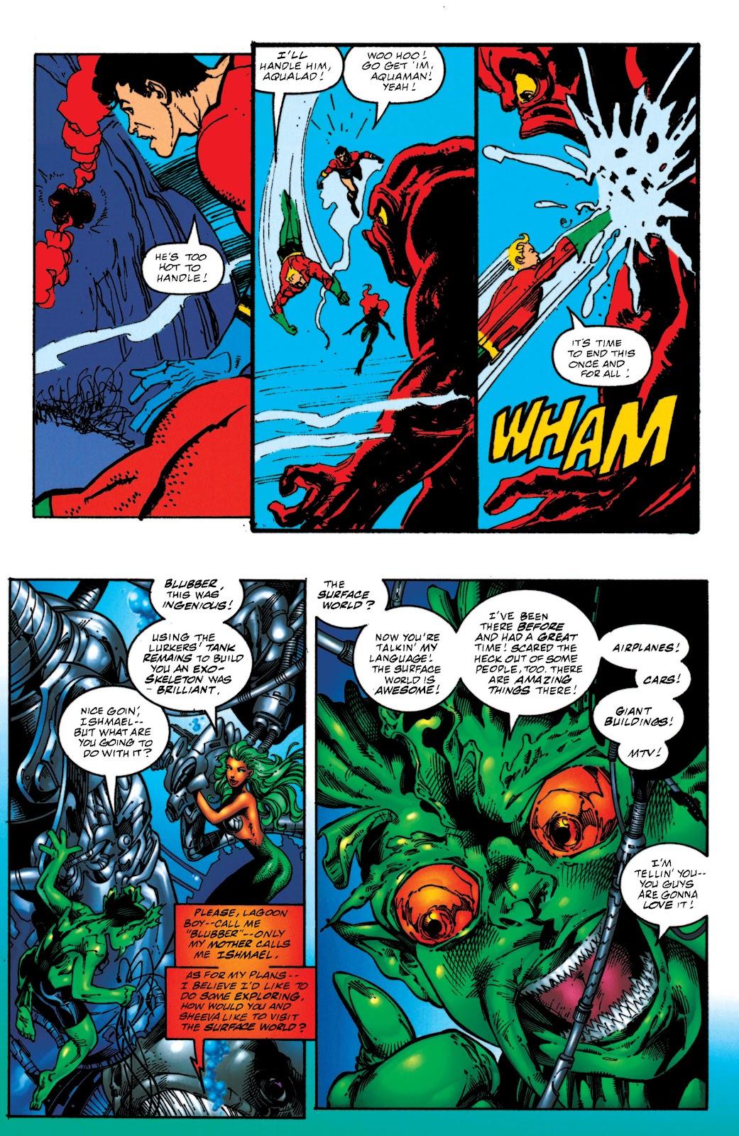Aquaman (1994) Issue #52 #58 - English 19