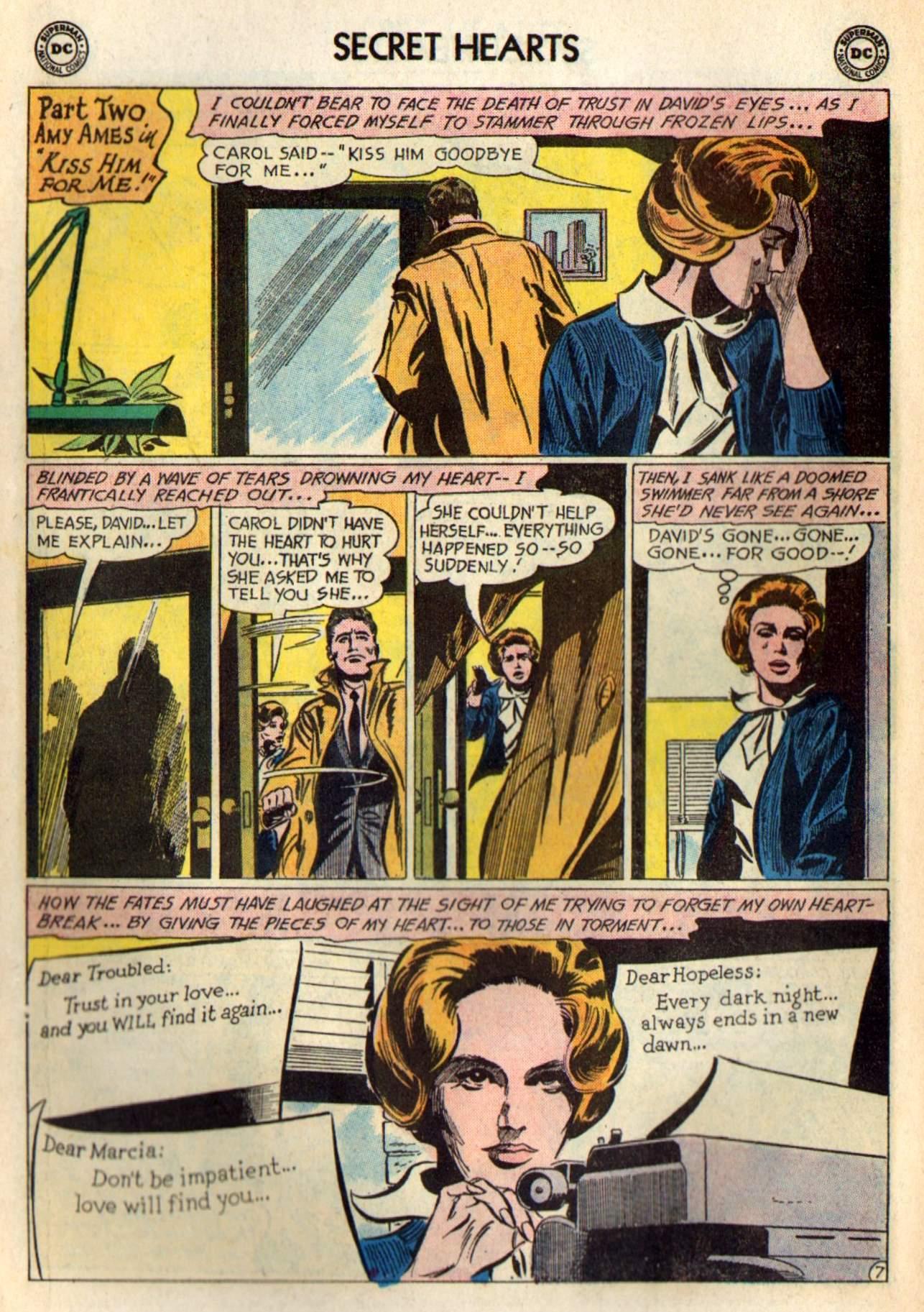 Read online Secret Hearts comic -  Issue #98 - 26