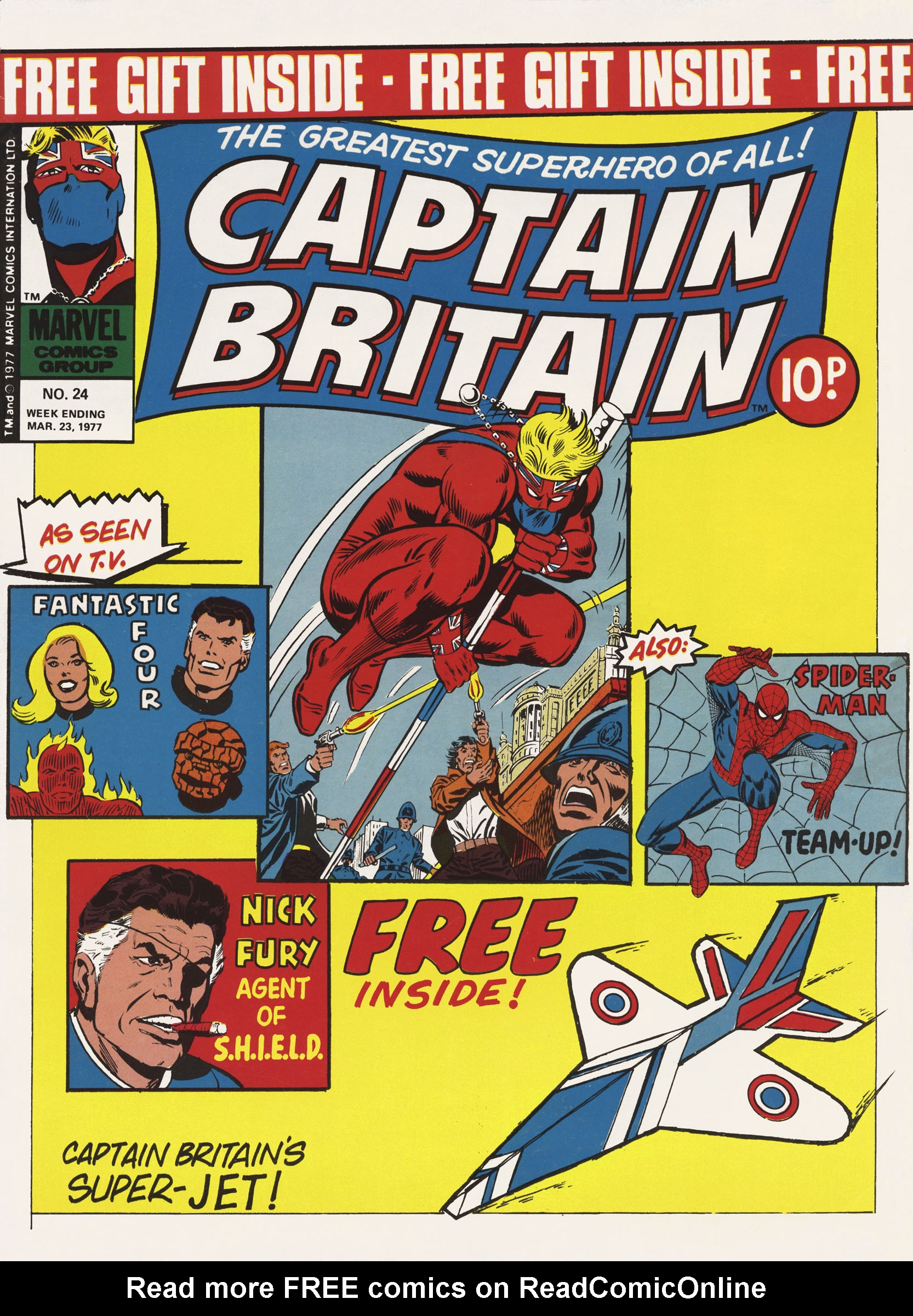 Captain Britain (1976) 24 Page 1