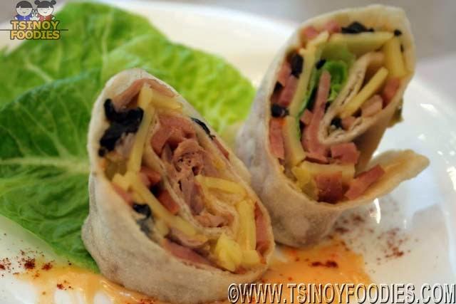 tortilla club sandwich