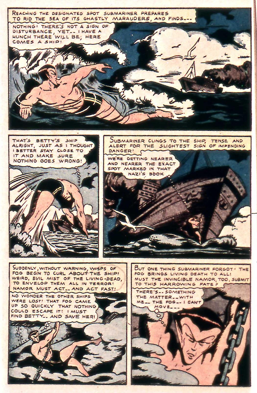 Sub-Mariner Comics Issue #14 #14 - English 8