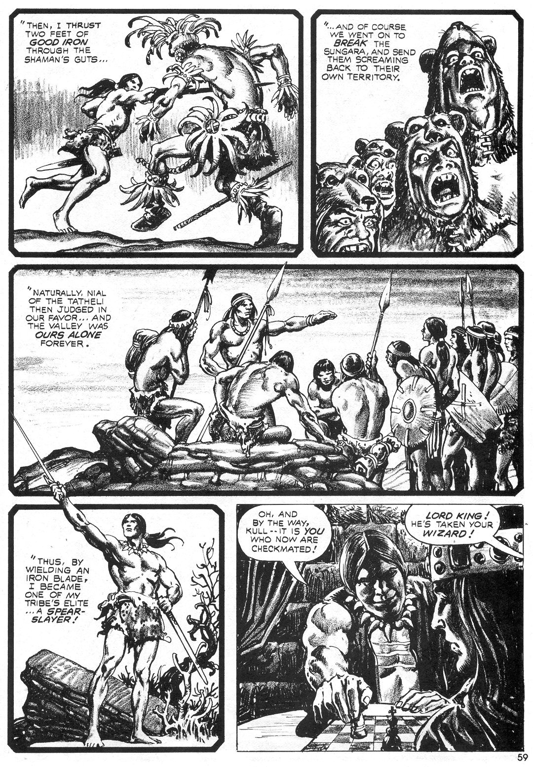 The Savage Sword Of Conan Issue #55 #56 - English 58