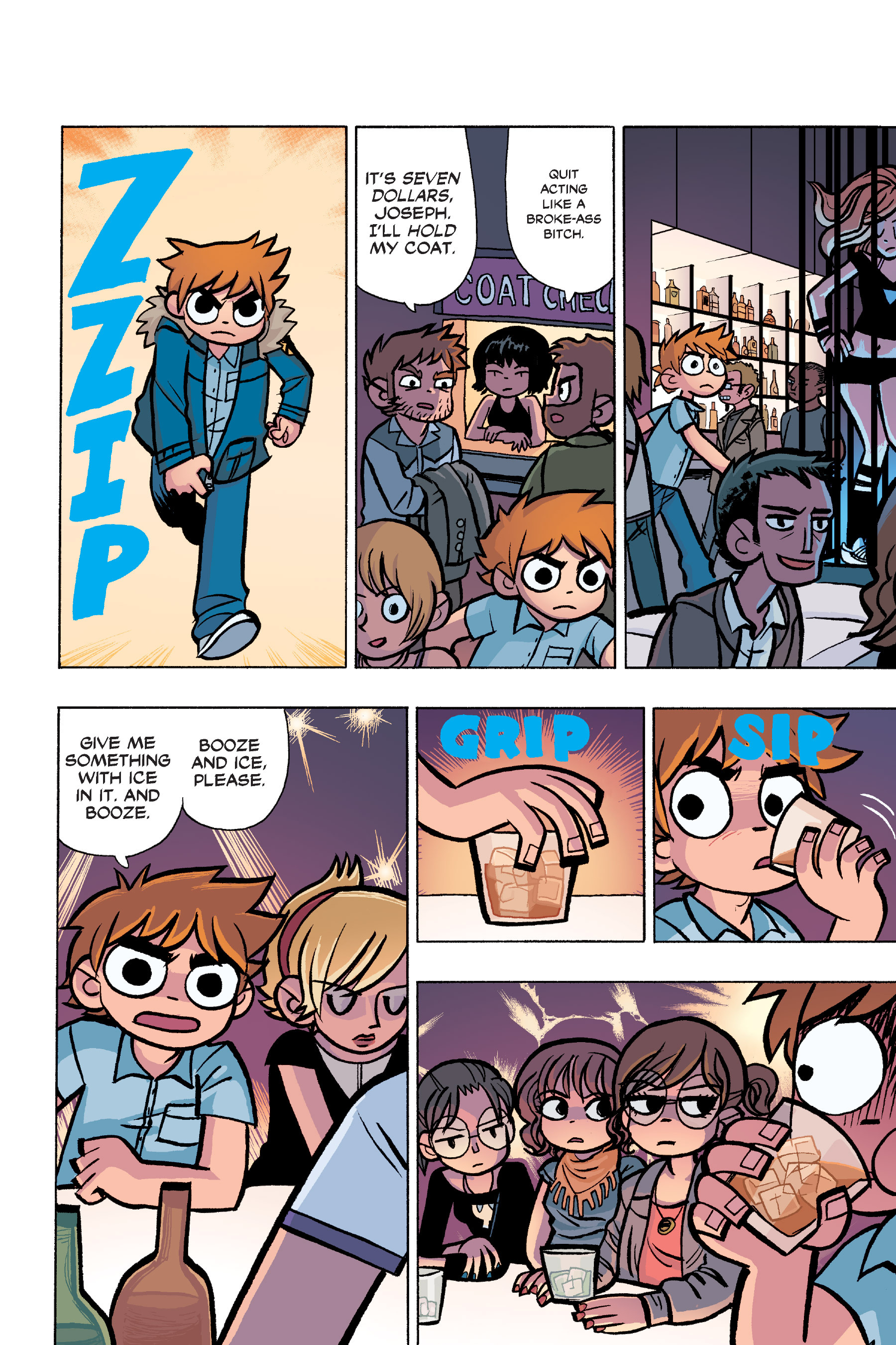 Read online Scott Pilgrim comic -  Issue #6 - 103