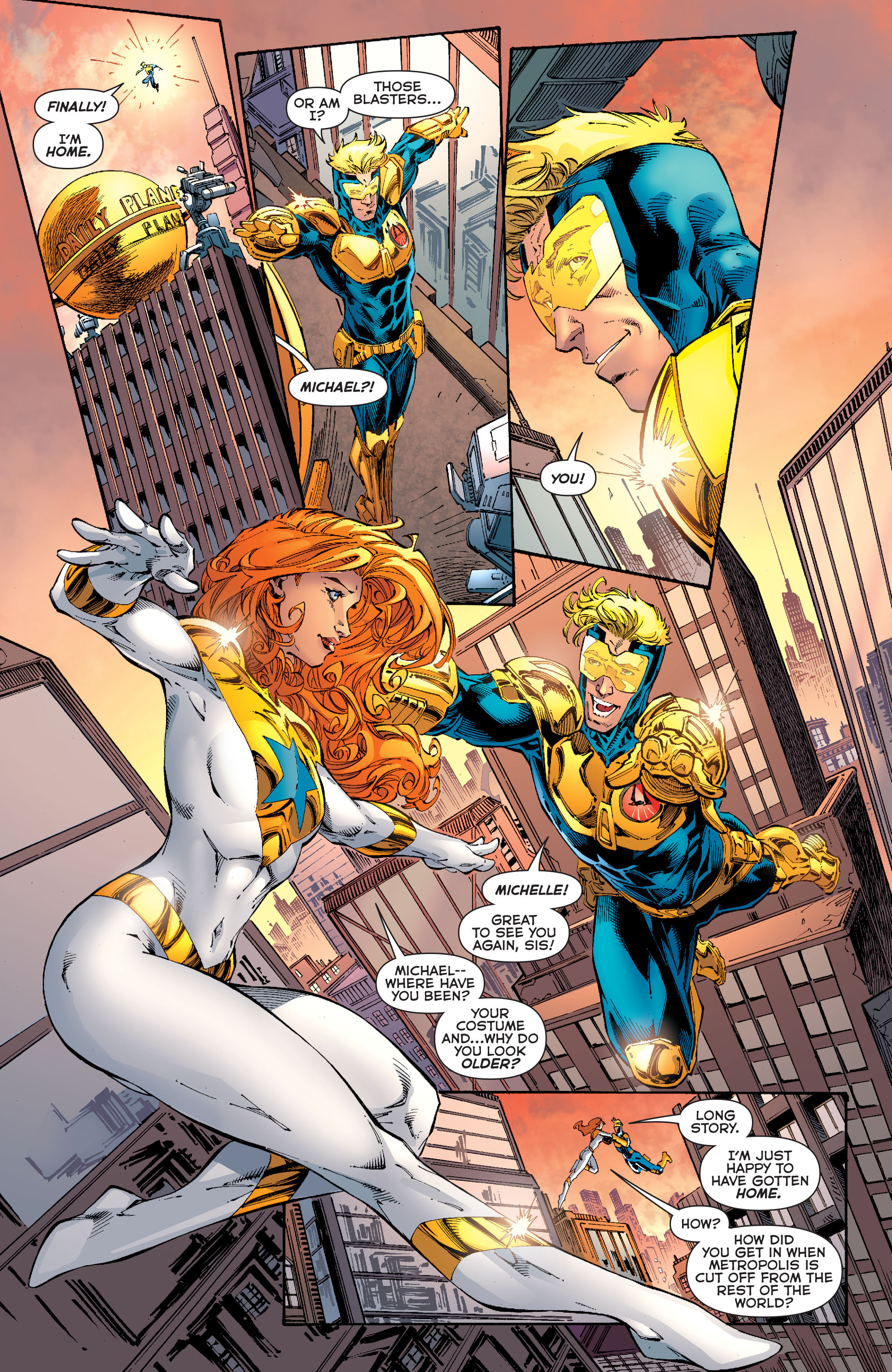 Read online Booster Gold: Futures End comic -  Issue # Full - 17