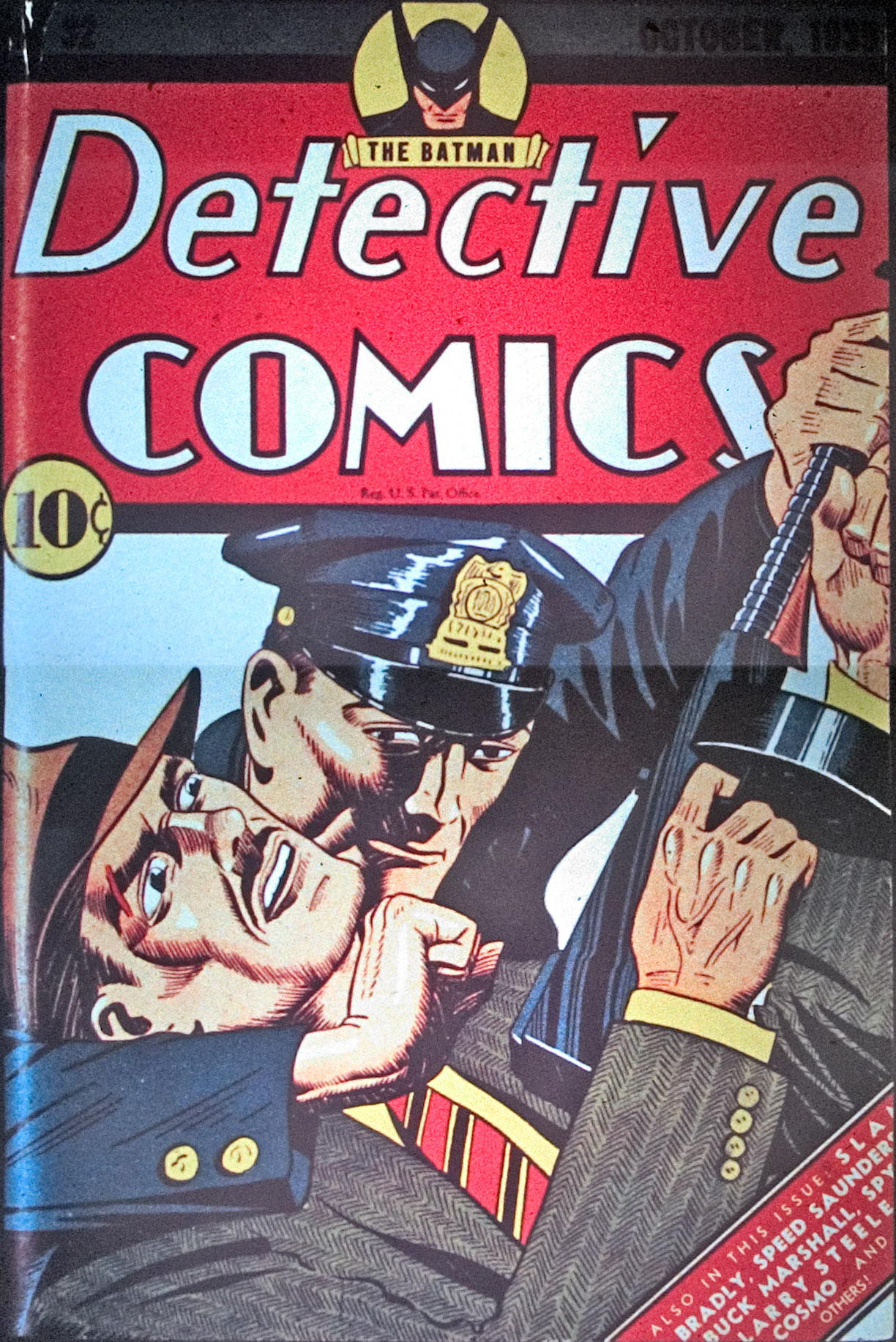 Detective Comics (1937) 32 Page 1