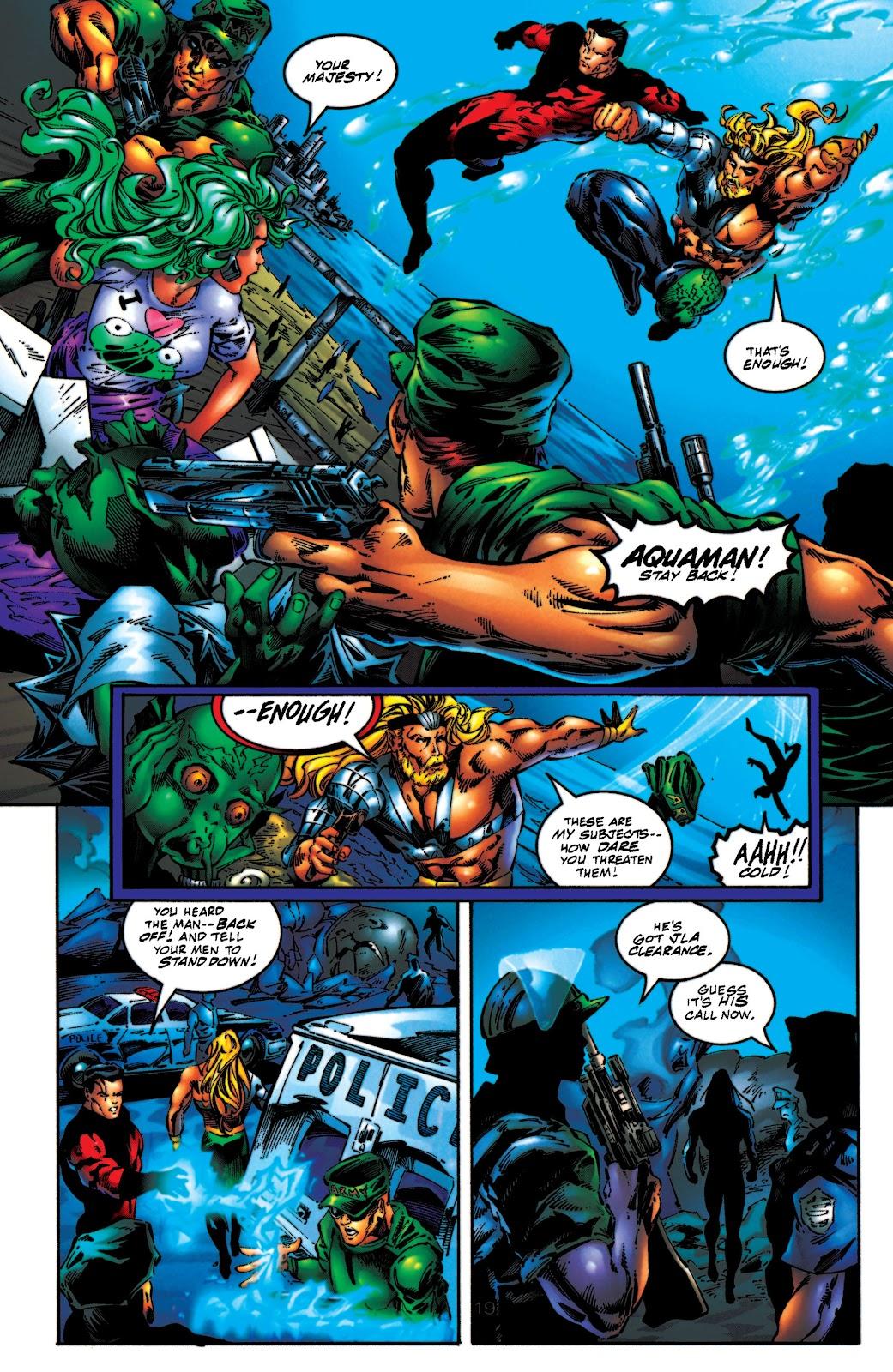 Aquaman (1994) Issue #54 #60 - English 20