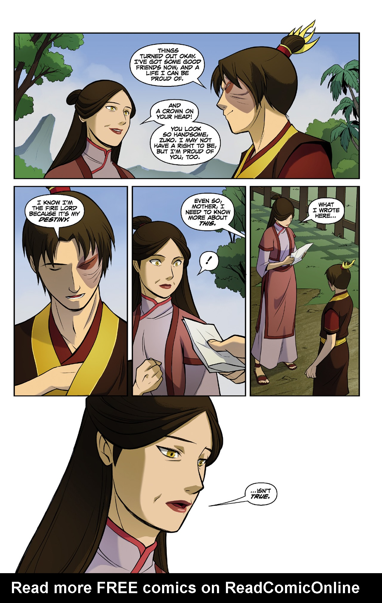 Read online Nickelodeon Avatar: The Last Airbender - The Search comic -  Issue # Part 3 - 72