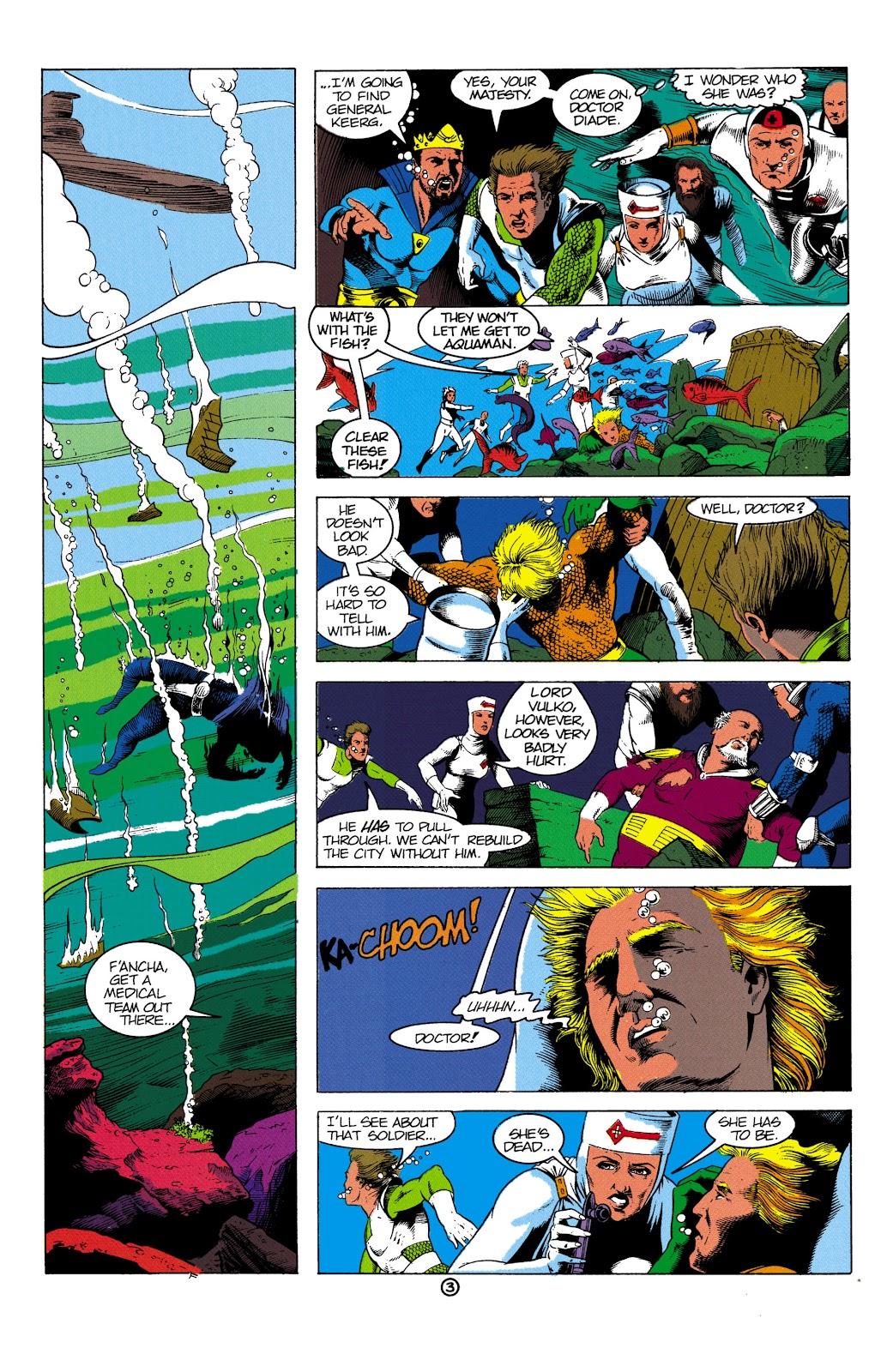 Aquaman (1991) Issue #2 #2 - English 4