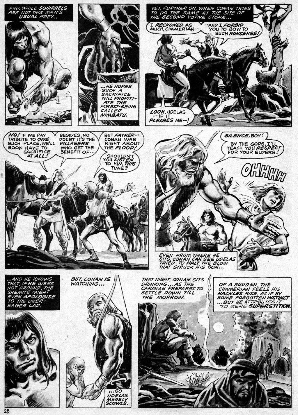 The Savage Sword Of Conan Issue #69 #70 - English 26