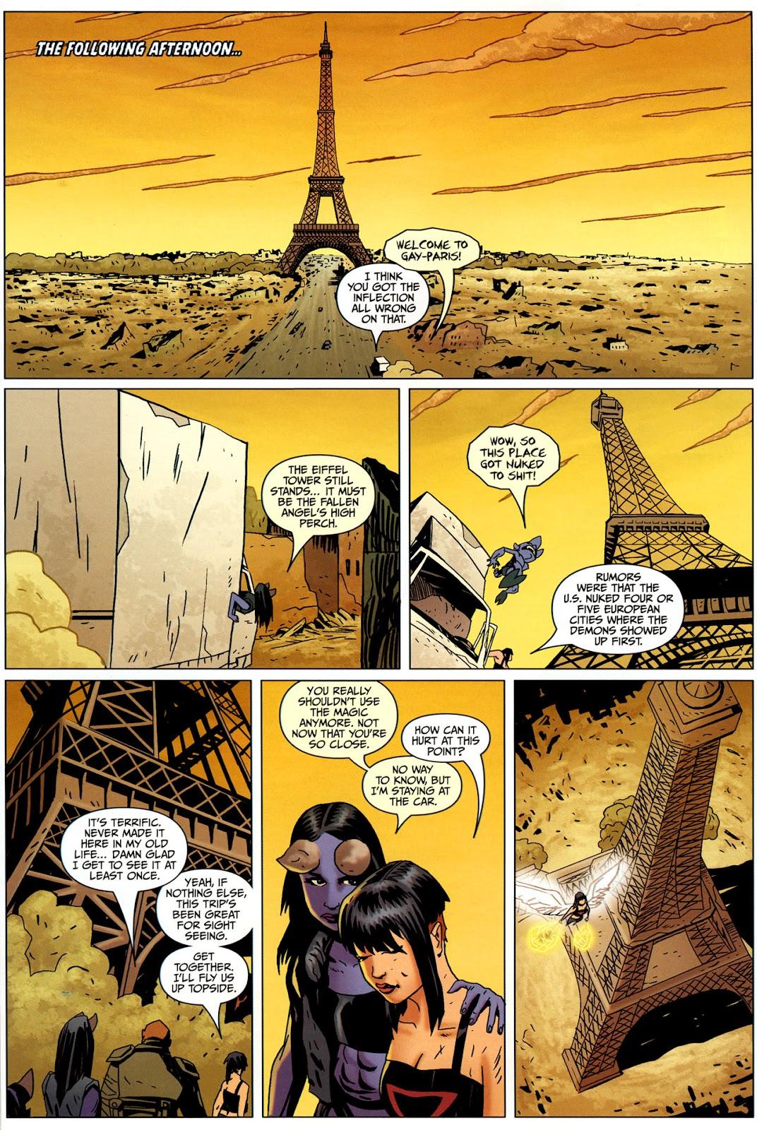 Strange Girl Issue #17 #18 - English 20