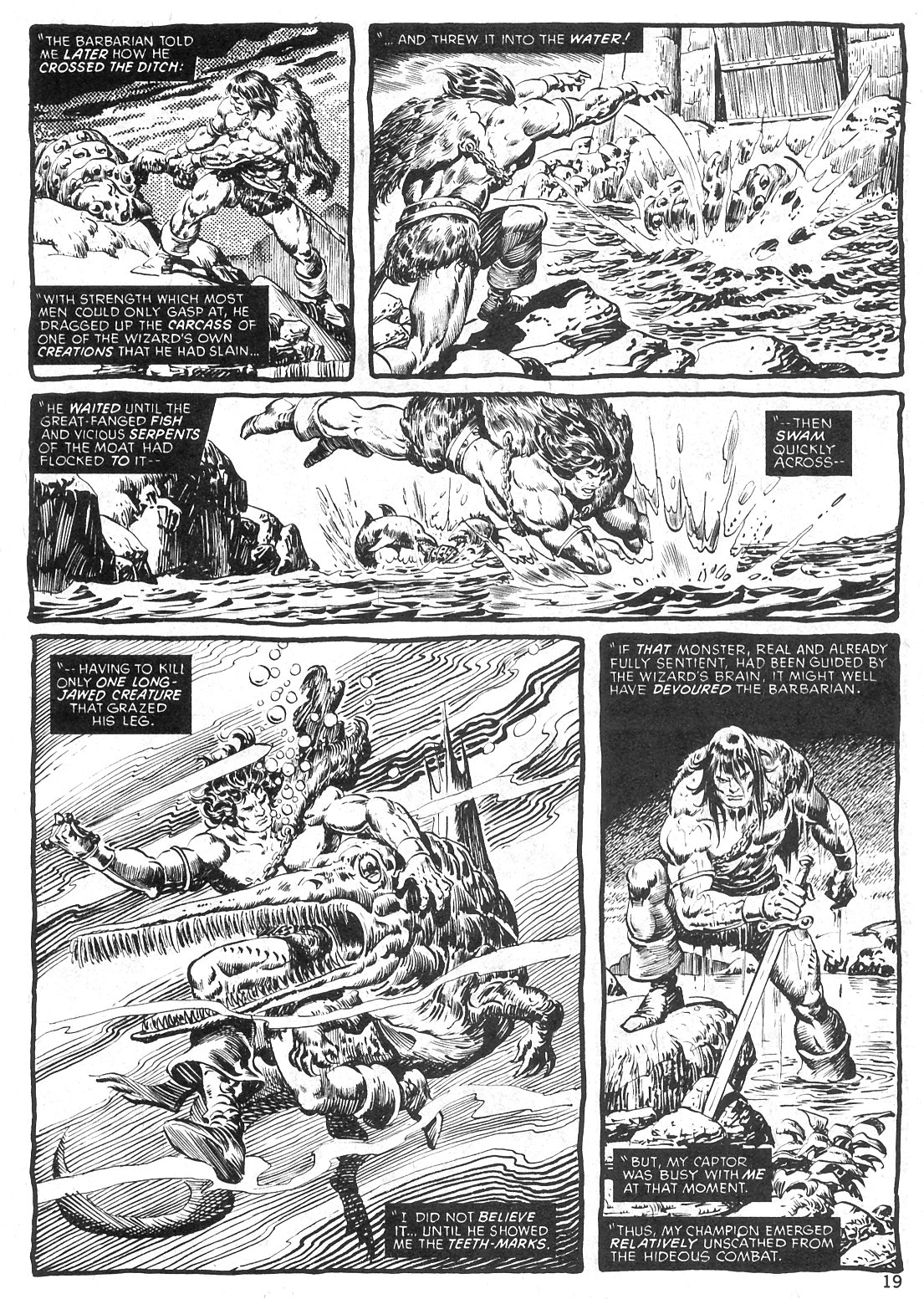 The Savage Sword Of Conan Issue #29 #30 - English 19