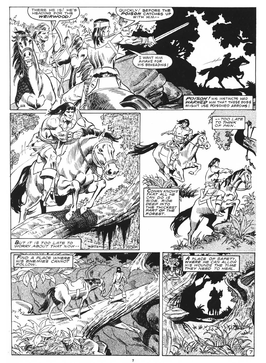 The Savage Sword Of Conan Issue #171 #172 - English 9