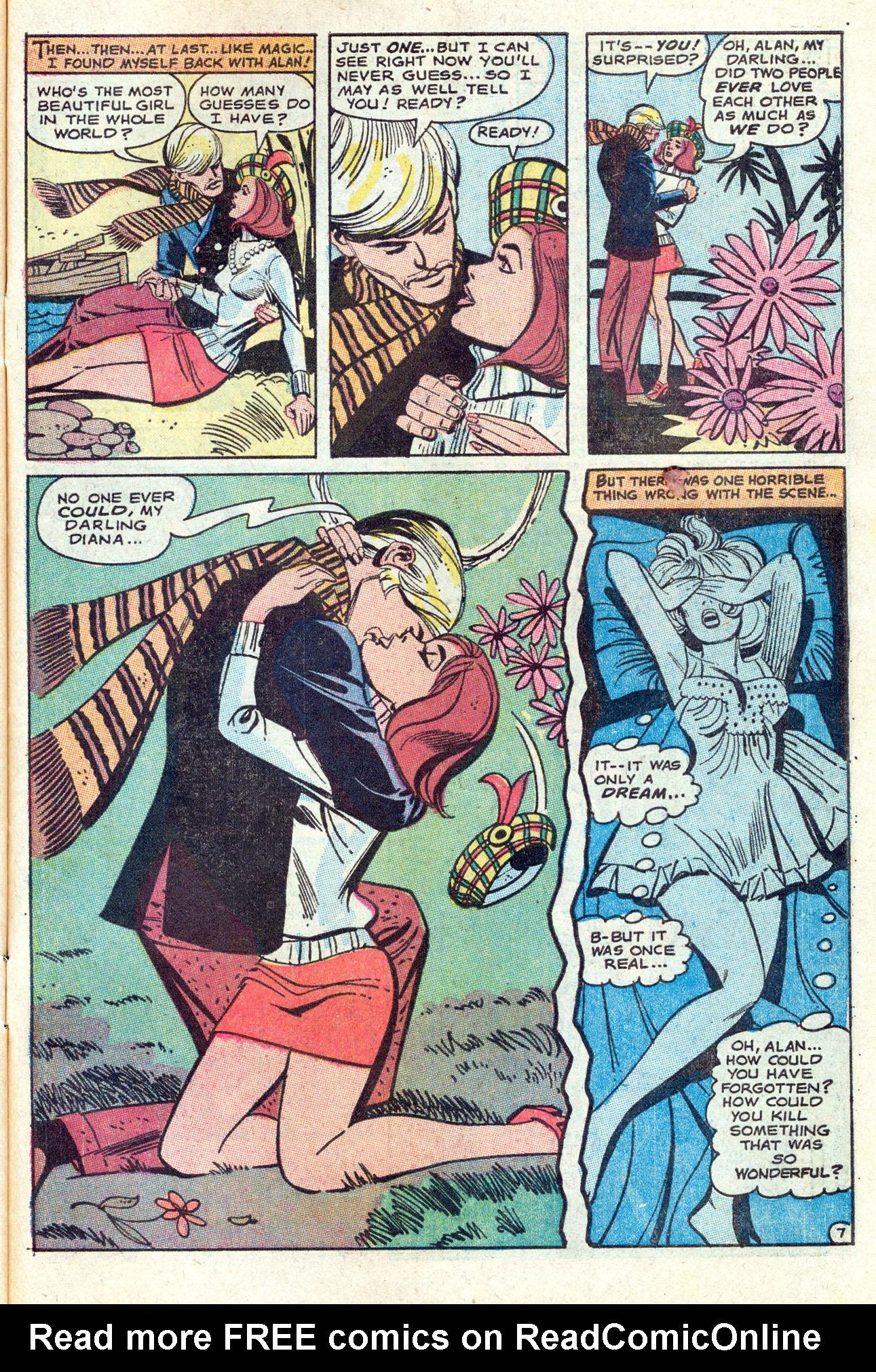Read online Secret Hearts comic -  Issue #142 - 31