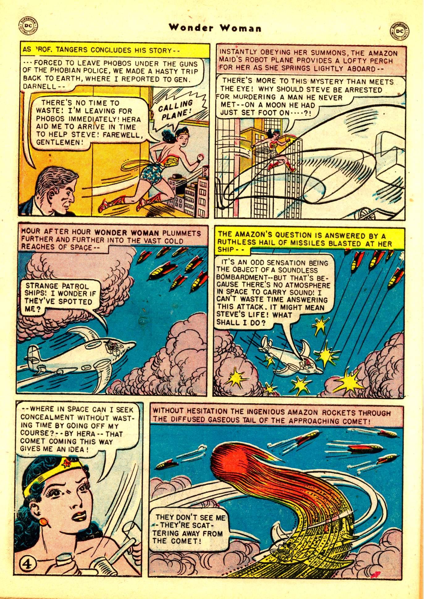 Wonder Woman Arrested