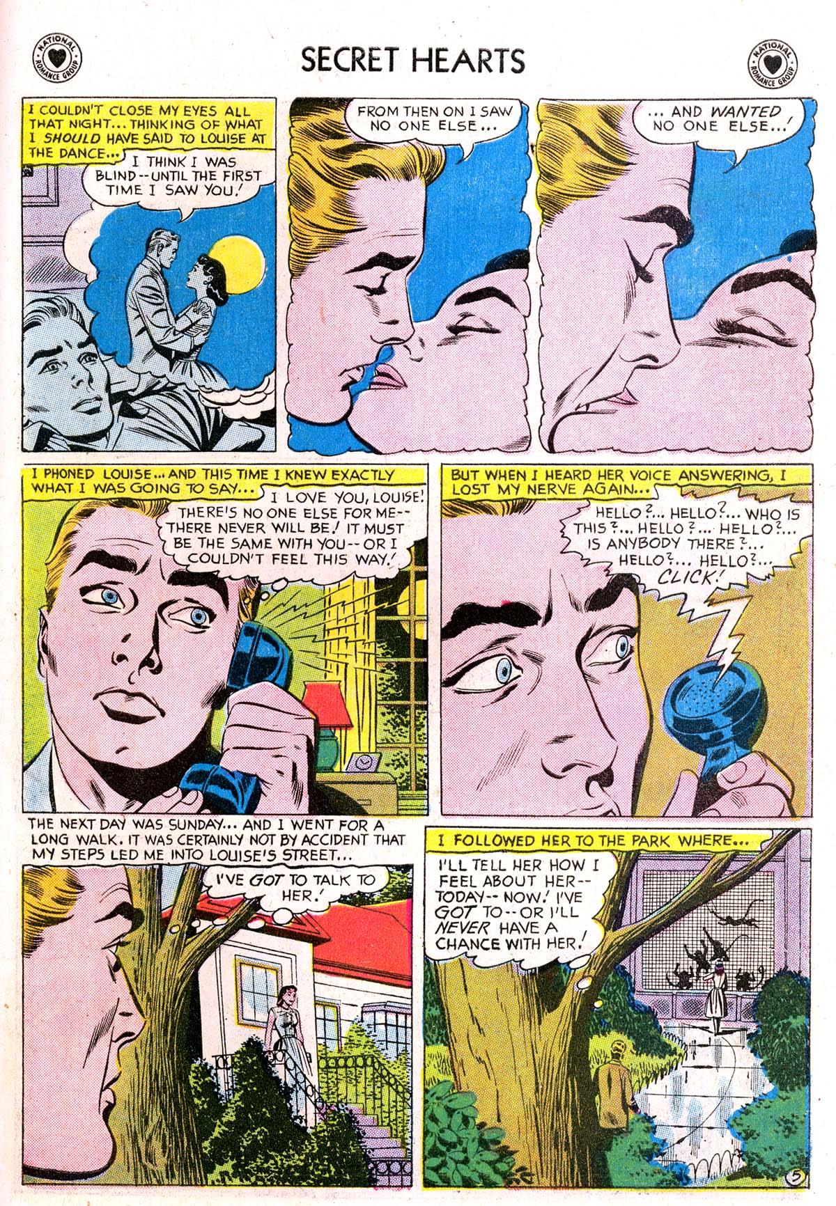 Read online Secret Hearts comic -  Issue #42 - 31