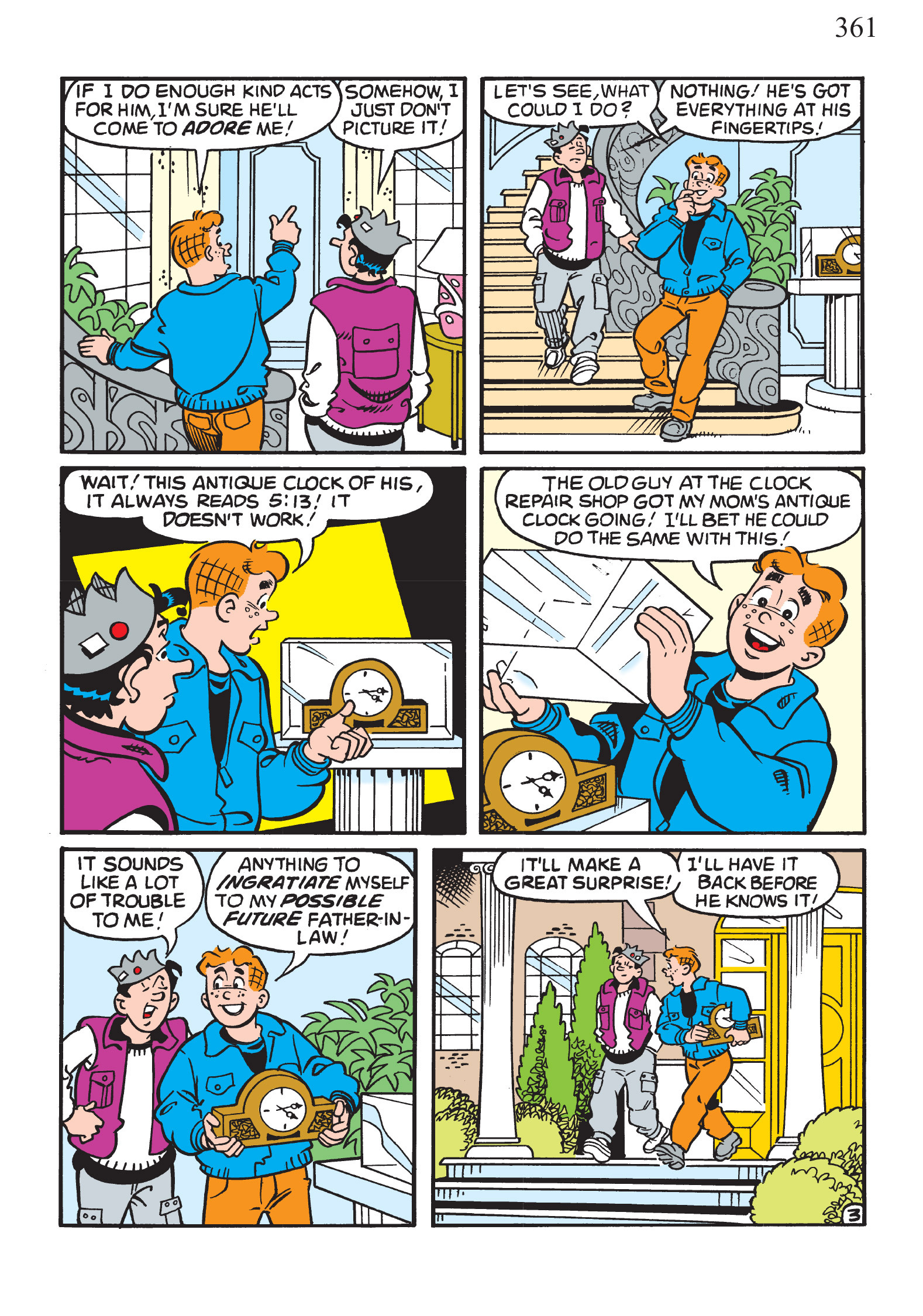 Read online The Best of Archie Comics comic -  Issue # TPB 1 (Part 2) - 131