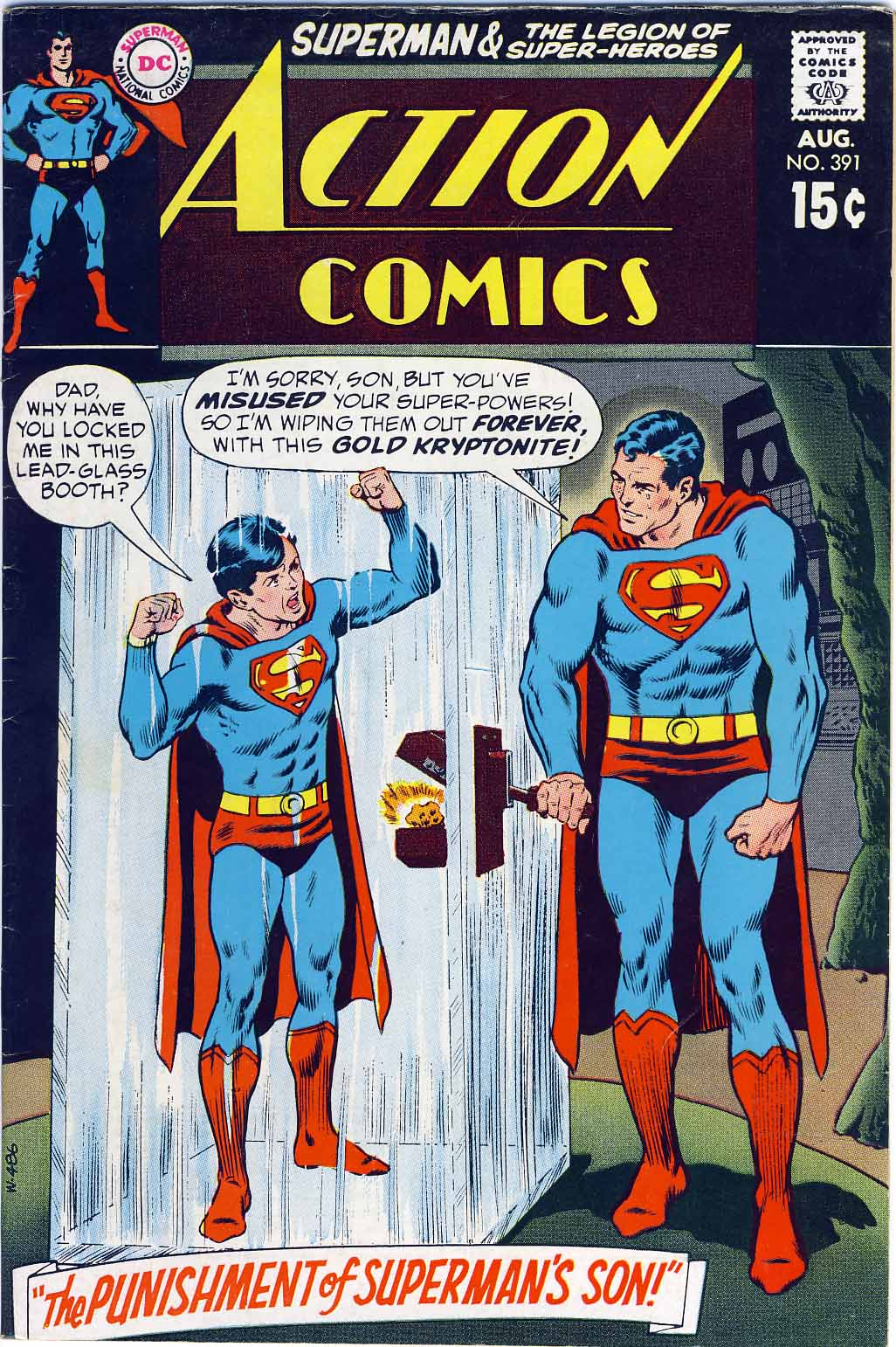 Action Comics (1938) 391 Page 1