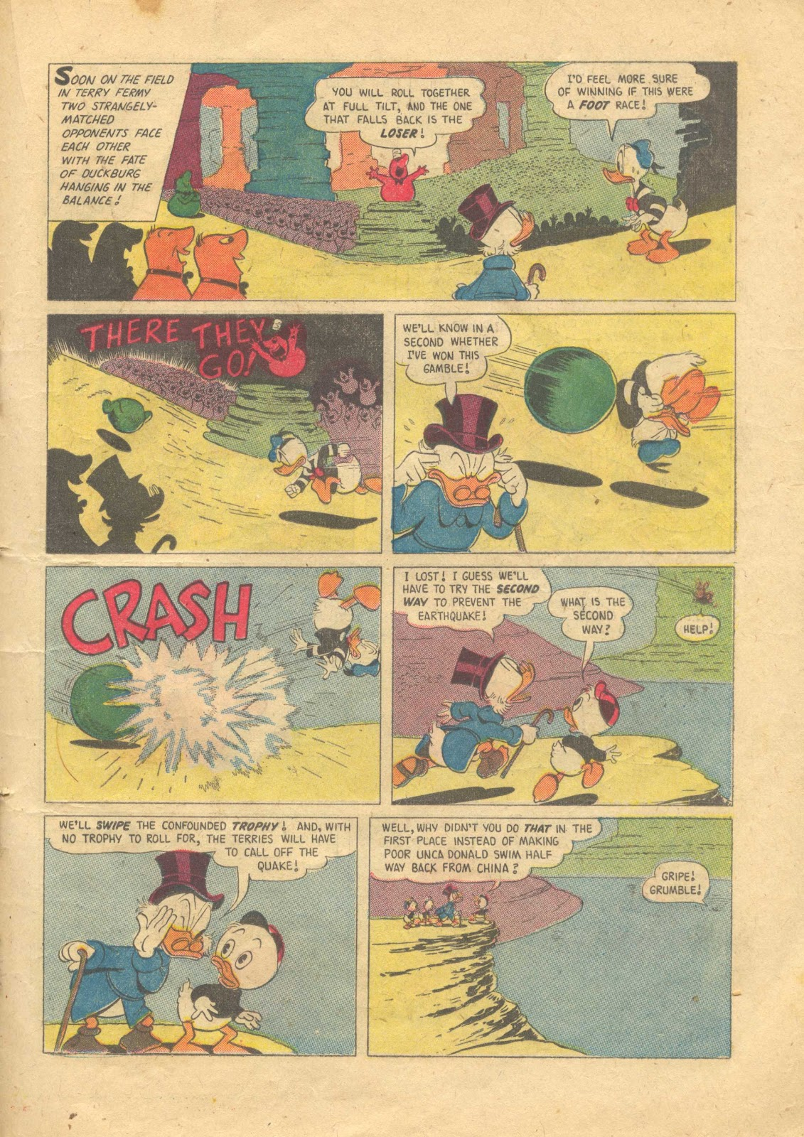 Uncle Scrooge (1953) Issue #13 #13 - English 19