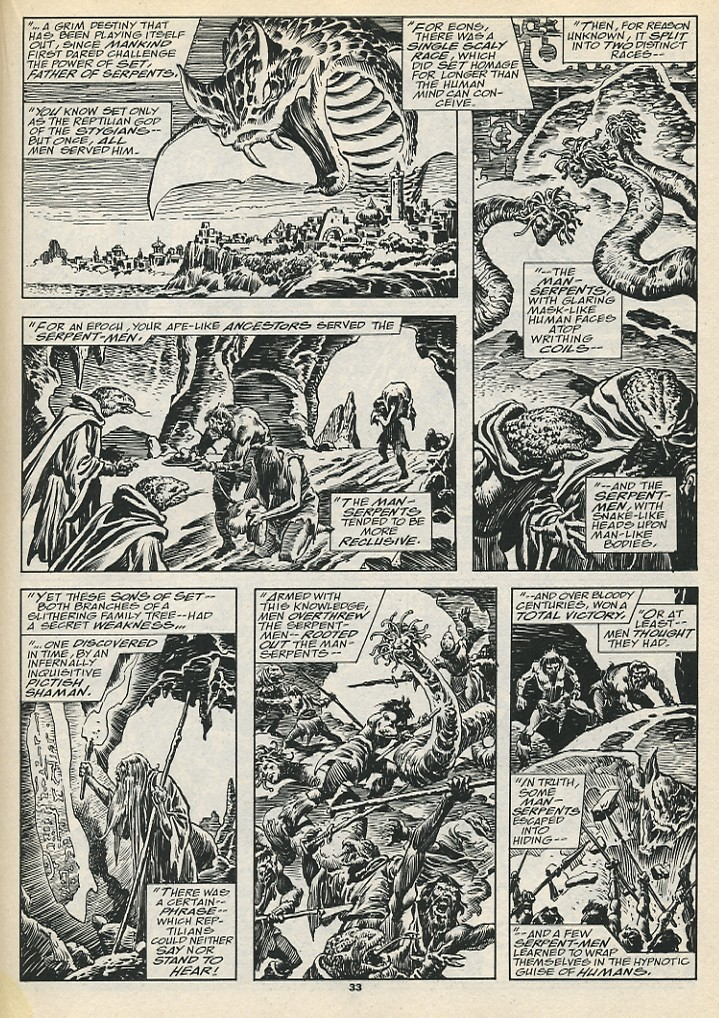The Savage Sword Of Conan Issue #192 #193 - English 35
