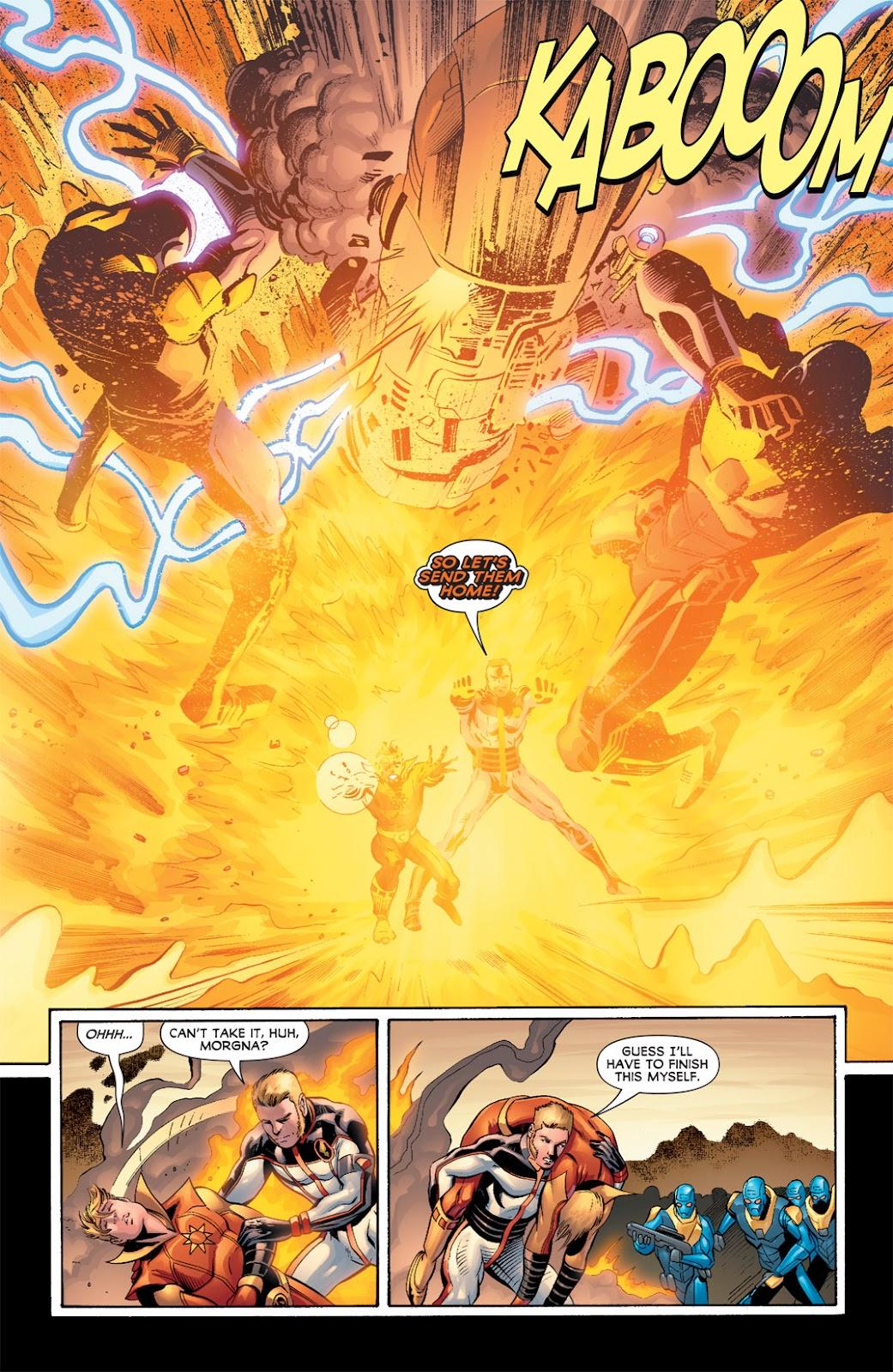 Legion of Super-Heroes (2010) Issue #5 #6 - English 22