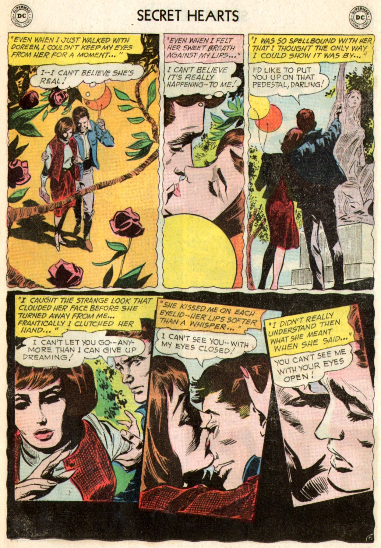 Read online Secret Hearts comic -  Issue #103 - 24